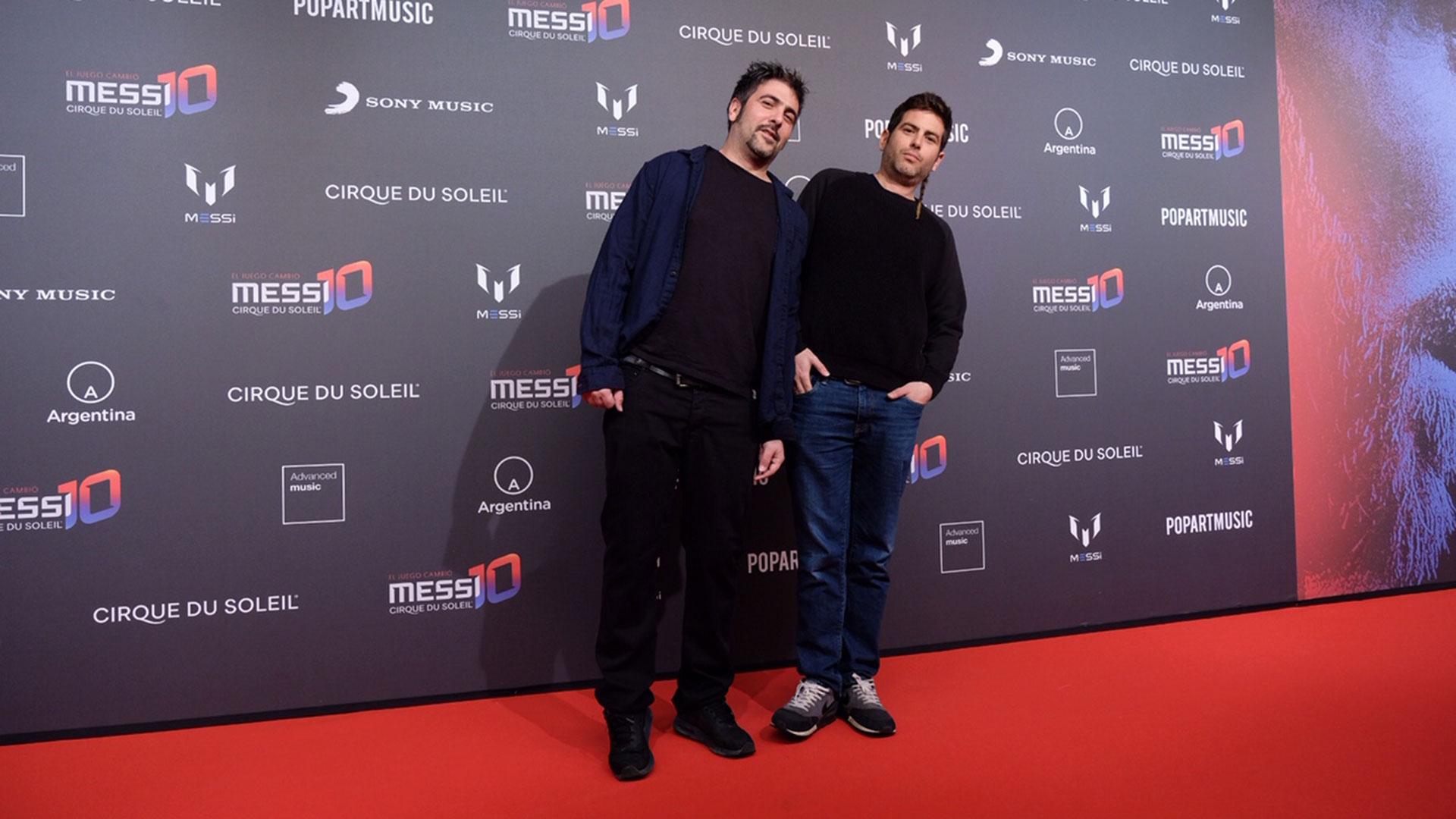 David y José, integrantes del dúo español Estopa
