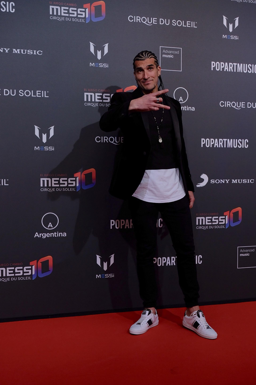 Pinto, ex jugador del Barcelona y actual productor musical