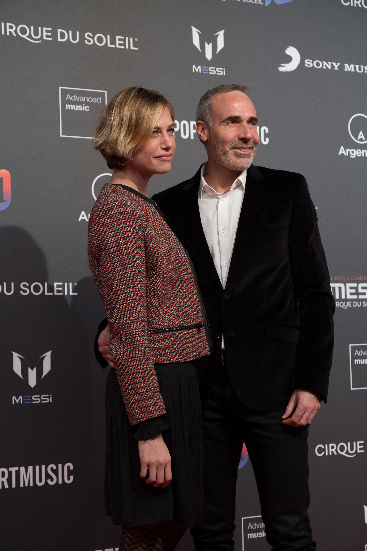 El ex tenista Álex Corretja y su pareja, Martina Klein