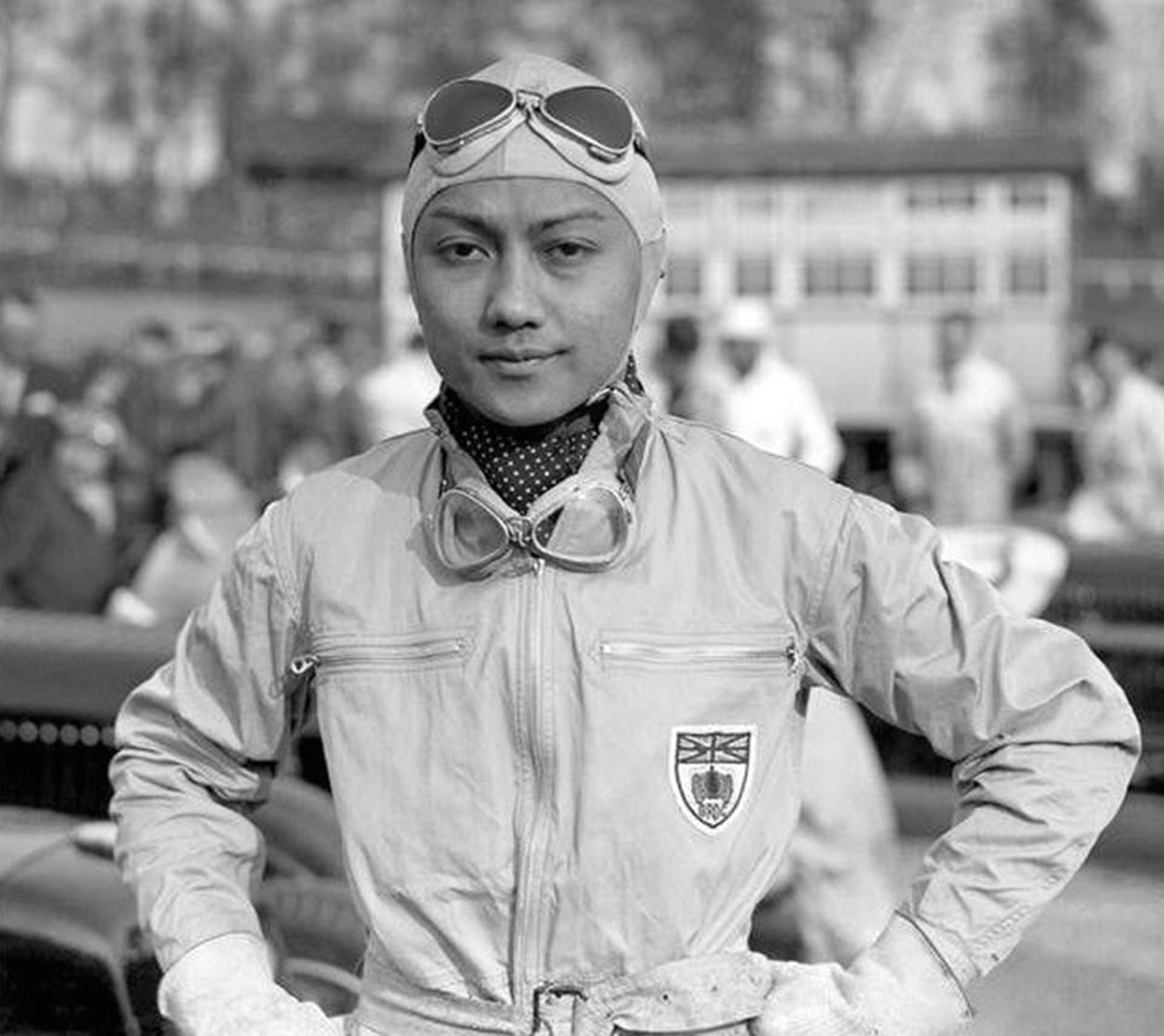 El príncipe Bira, amante del automovilismo, intentó volver con su esposa. Pero ella ya no lo amaba