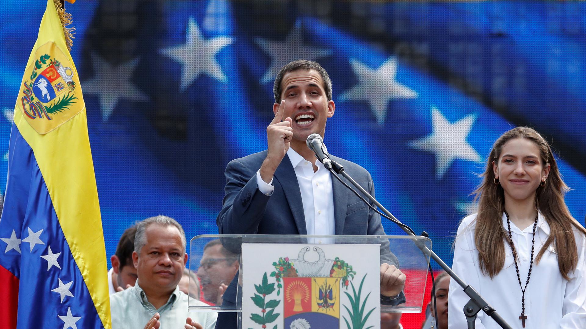 Juan Guaido (REUTERS / Carlos Garcia Rawlins)