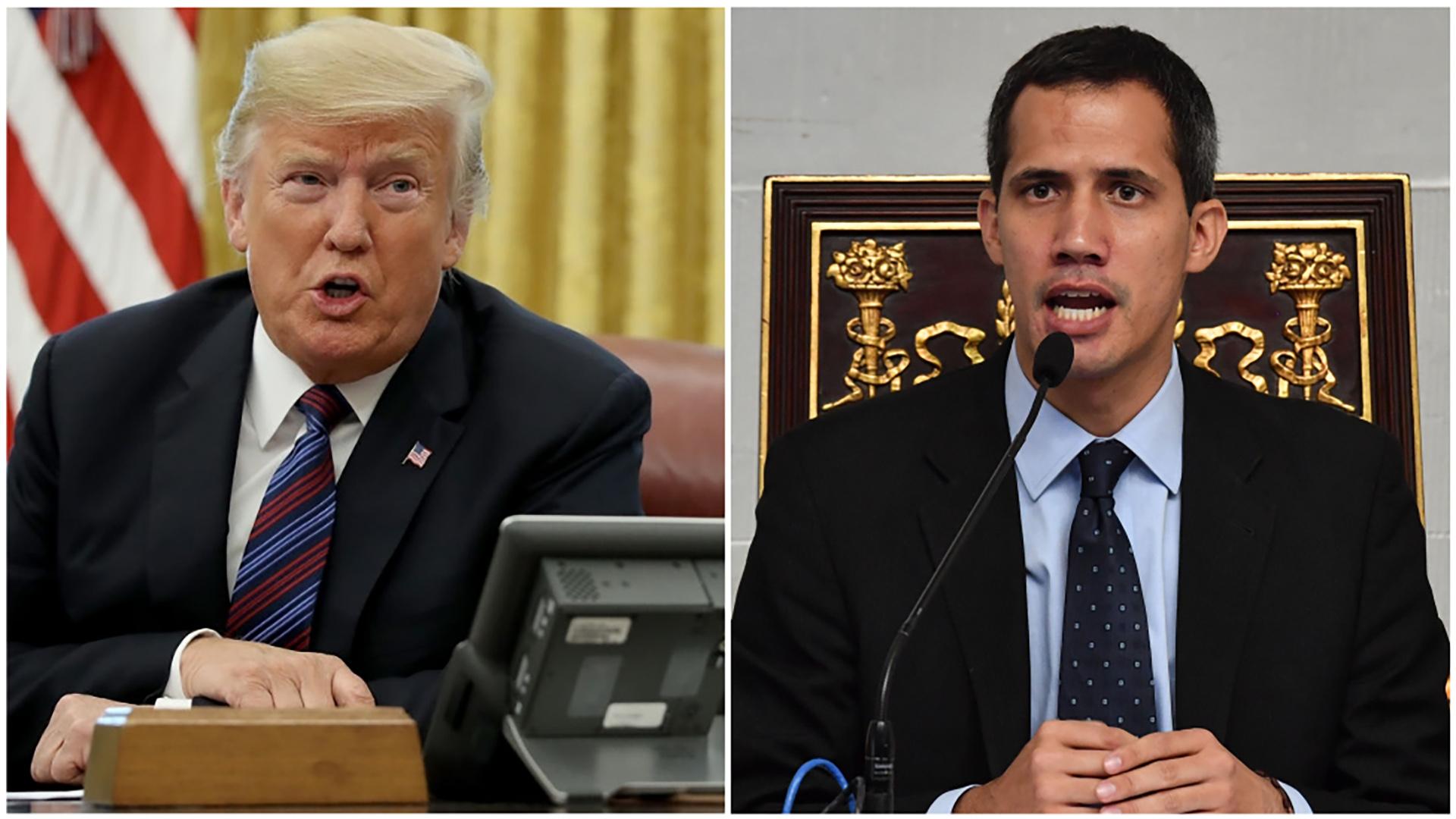 Trump reafirmará su apoyo a Guaidó