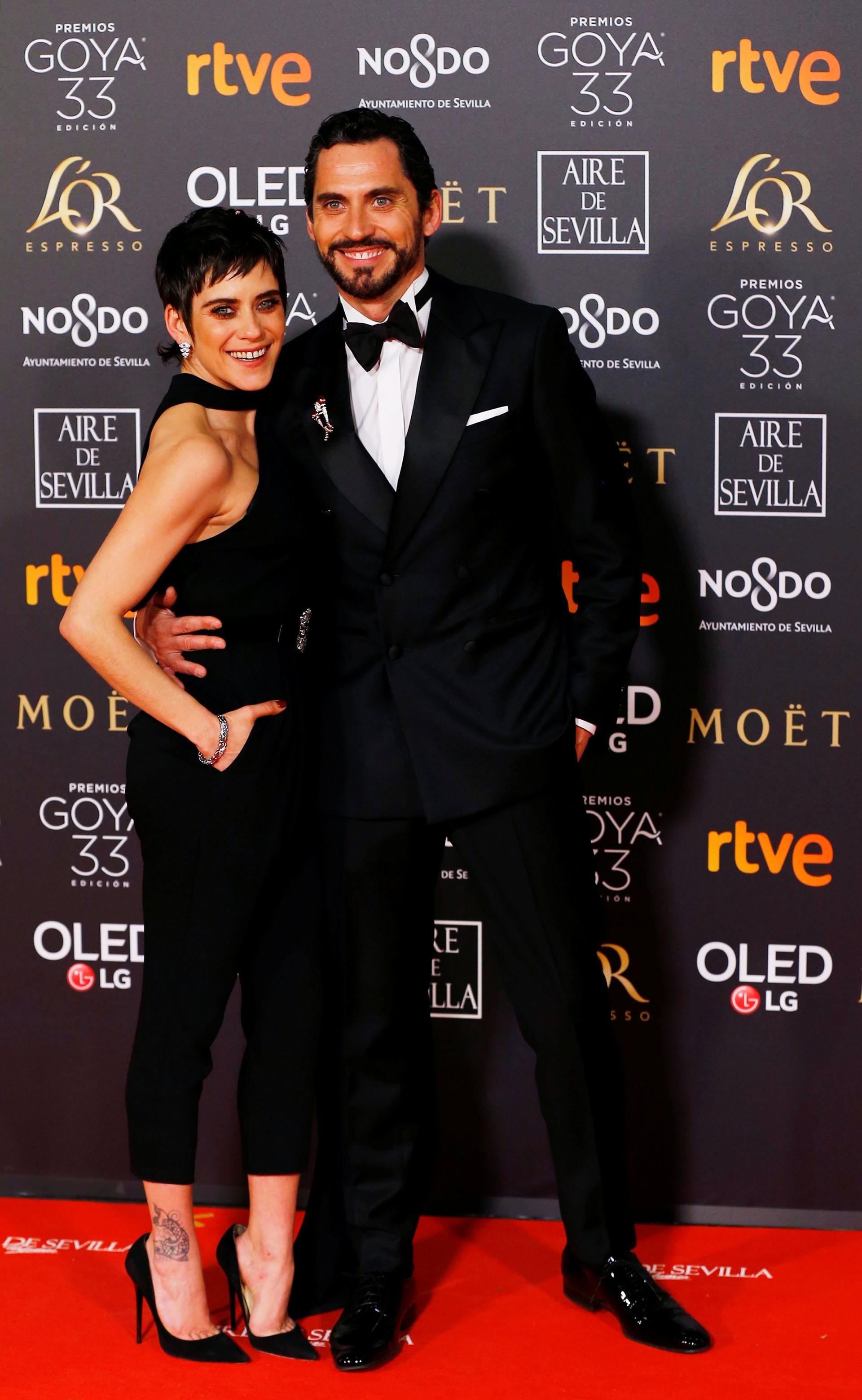 María y Paco León (REUTERS/Marcelo Del Pozo)