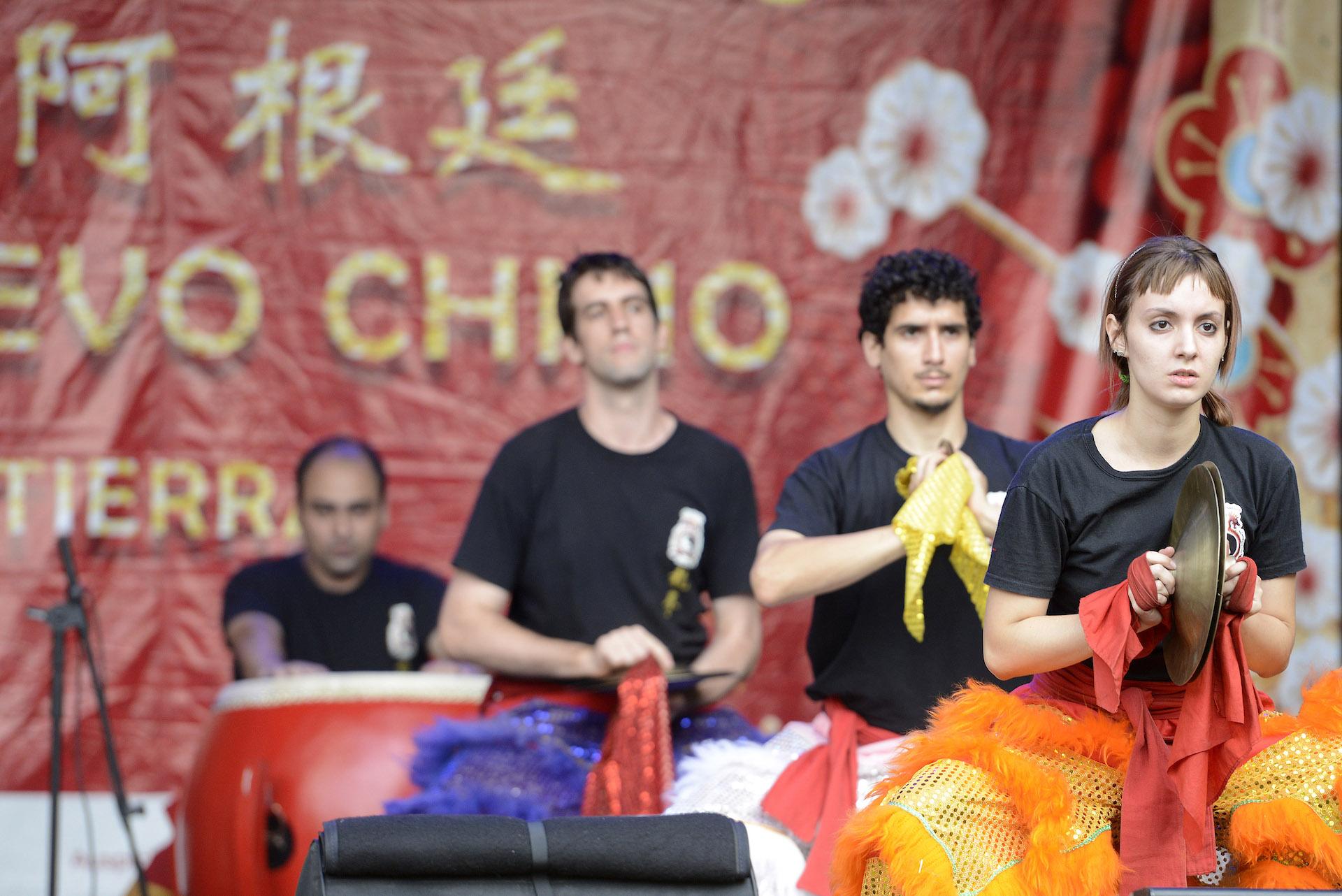 Danzas típicas, conciertos instrumentales y vocales y una exhibición de artes marciales fueron algunos de los shows.