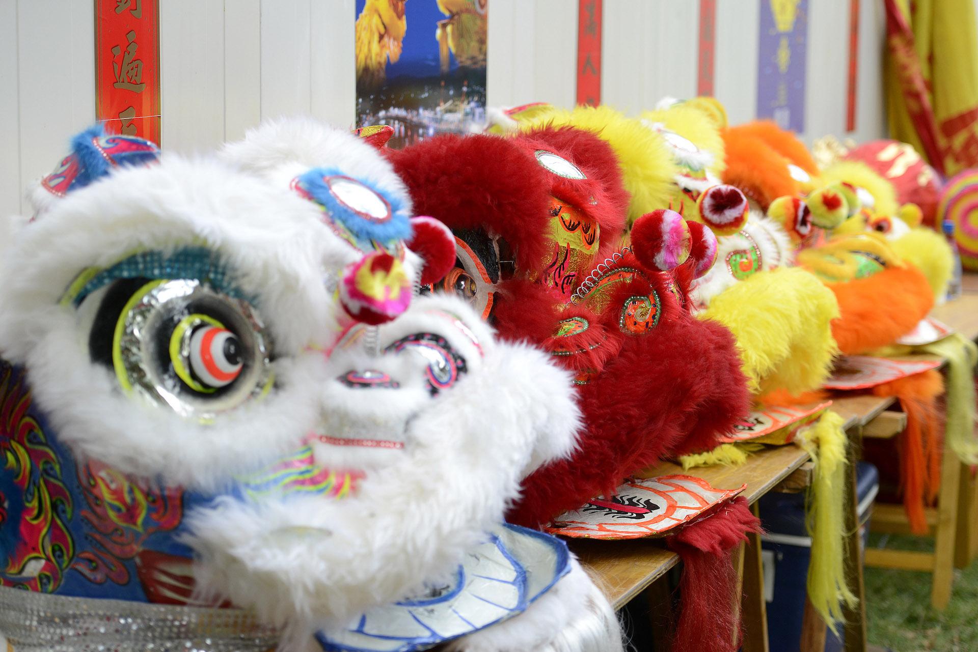 Las máscaras son verdaderas obras de arte. Y cada año son diferentes.
