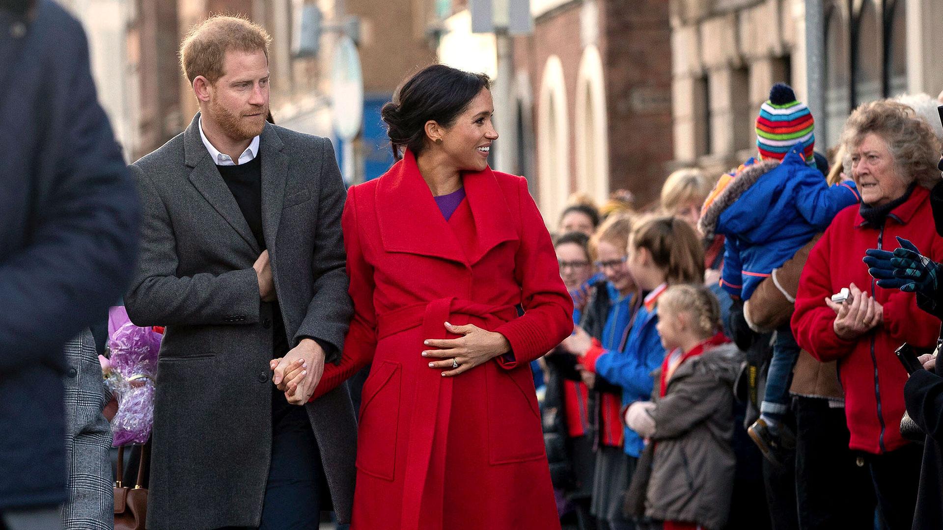 Los duques de Sussex esperan un hijo para fines del mes de abril. Aún se desconoce el sexo del bebé