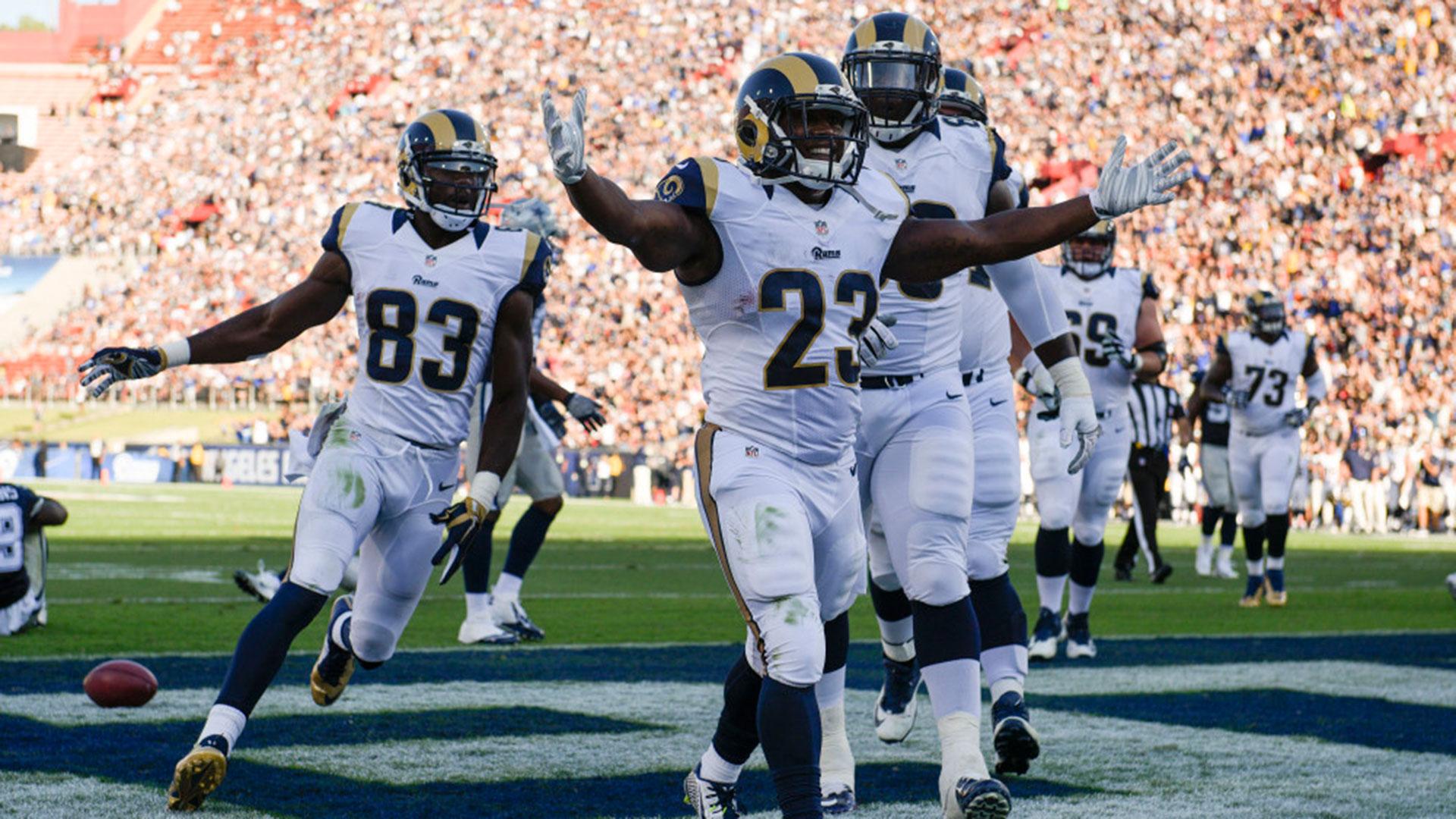 Los Rams quieren dar la sorpresa apostando a la juventud (Reuters)
