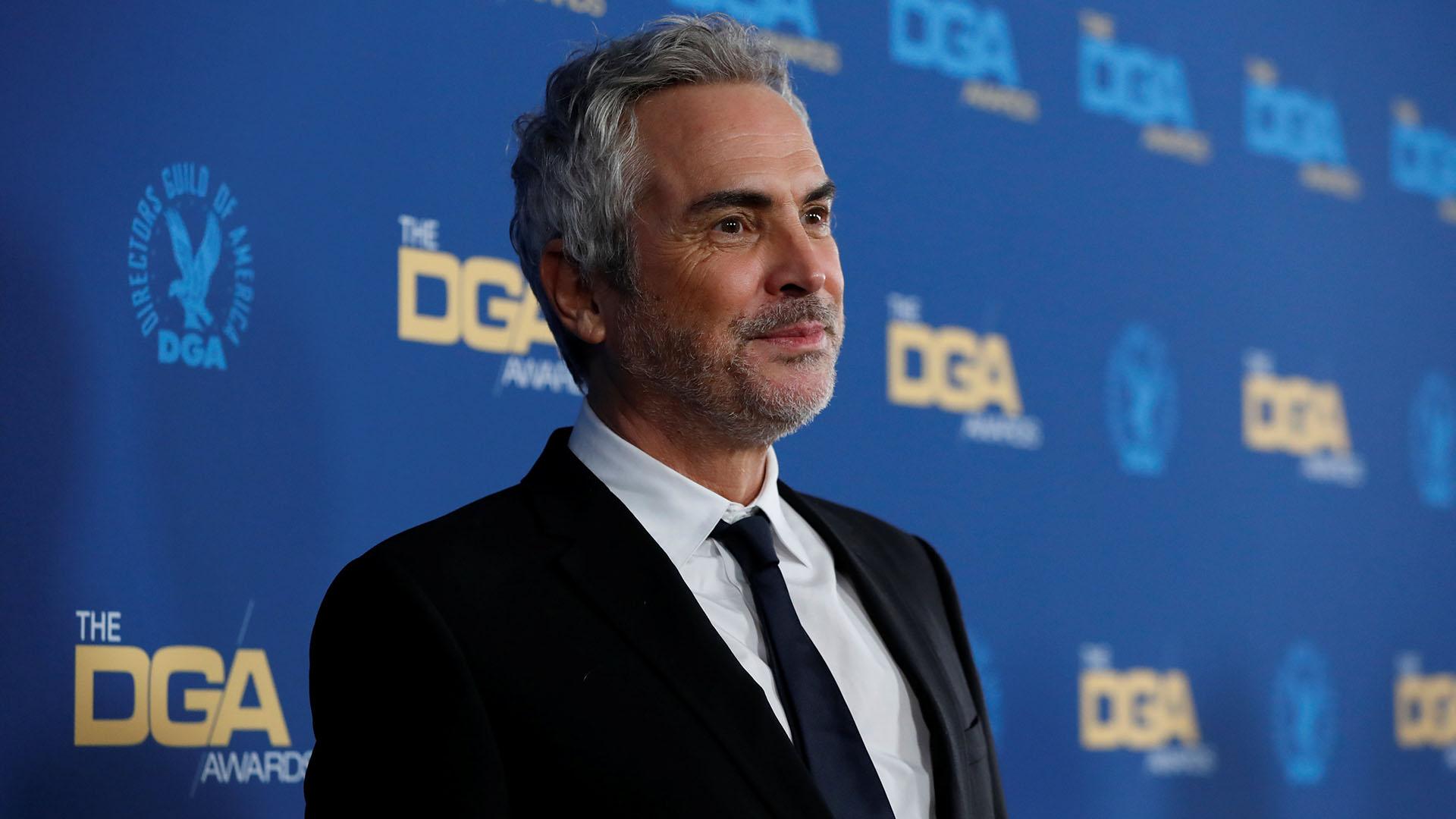 "Alfonso Cuaron, director de ""Roma"""
