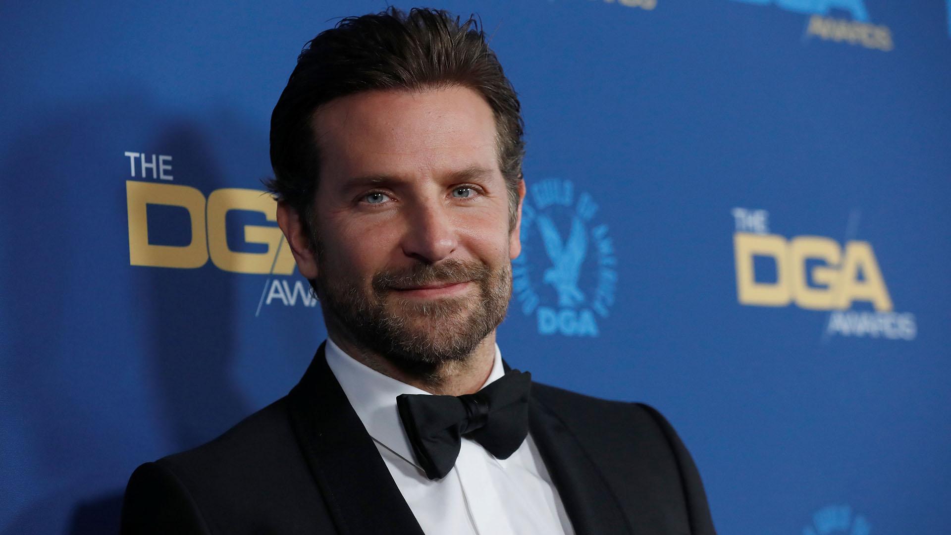 """Bradley Cooper, director de """"A Star is Born"""", a su llegada a la entrega de los Directors Guild Awards, en Los Ángeles"""
