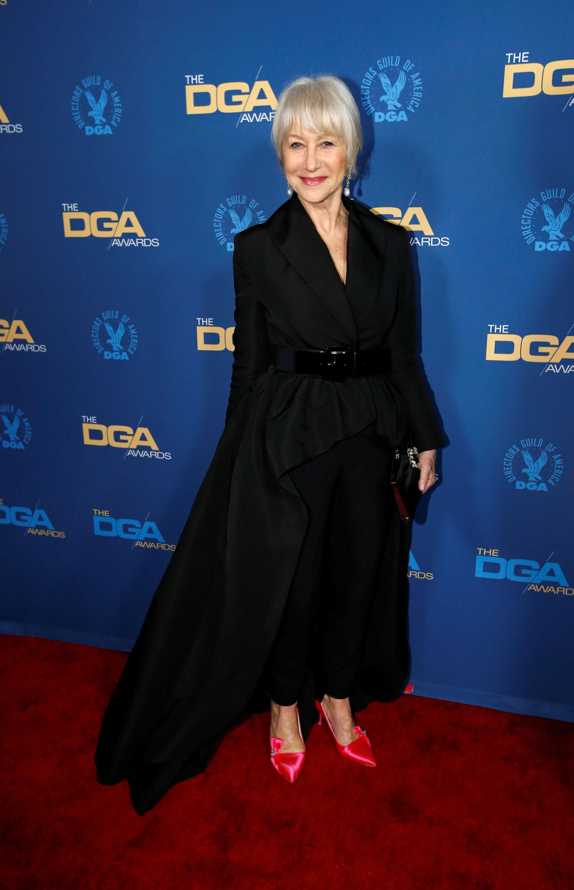 Helen Mirren y su estilo siempre fabuloso