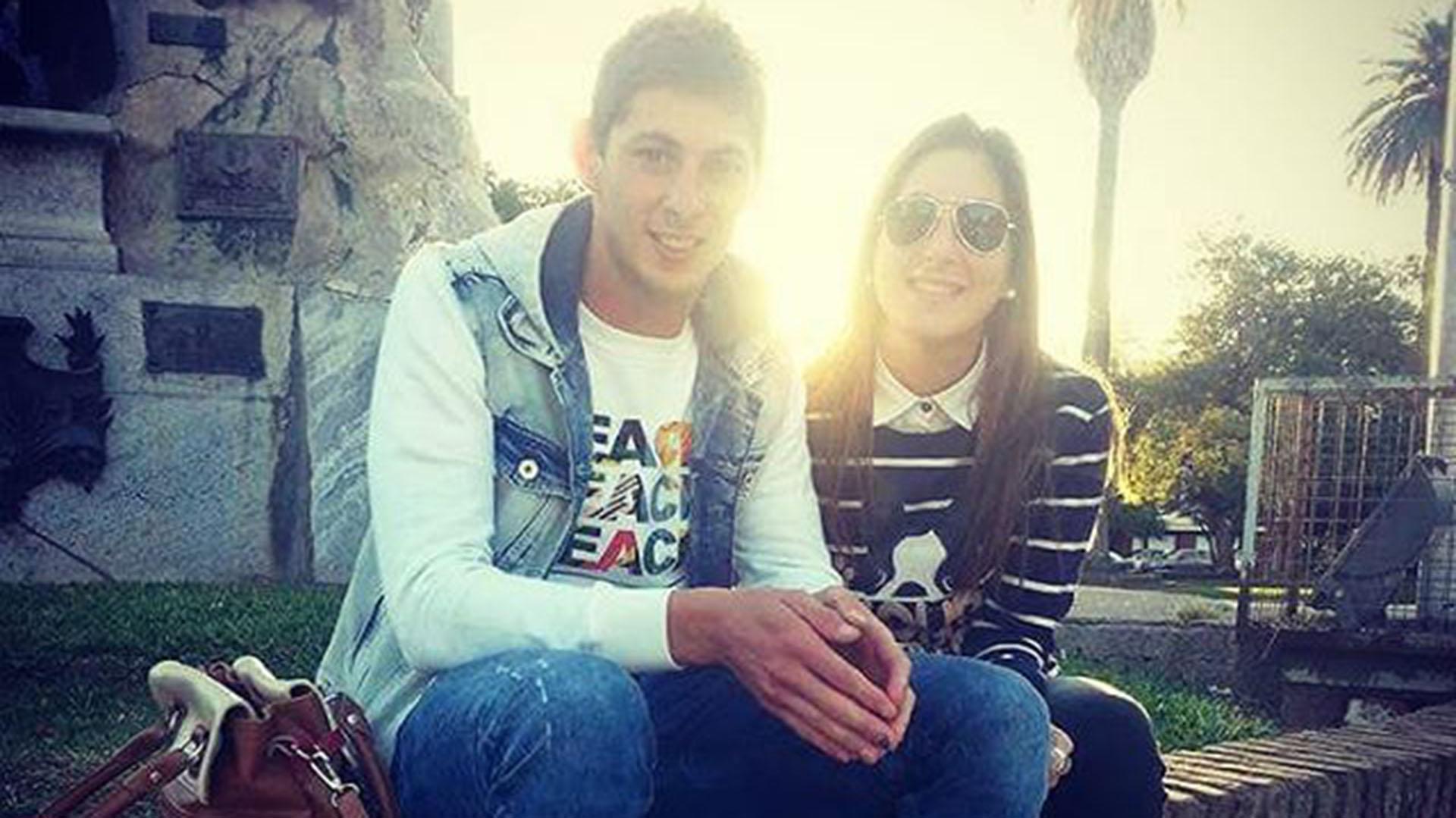 Emiliano y Romina Sala