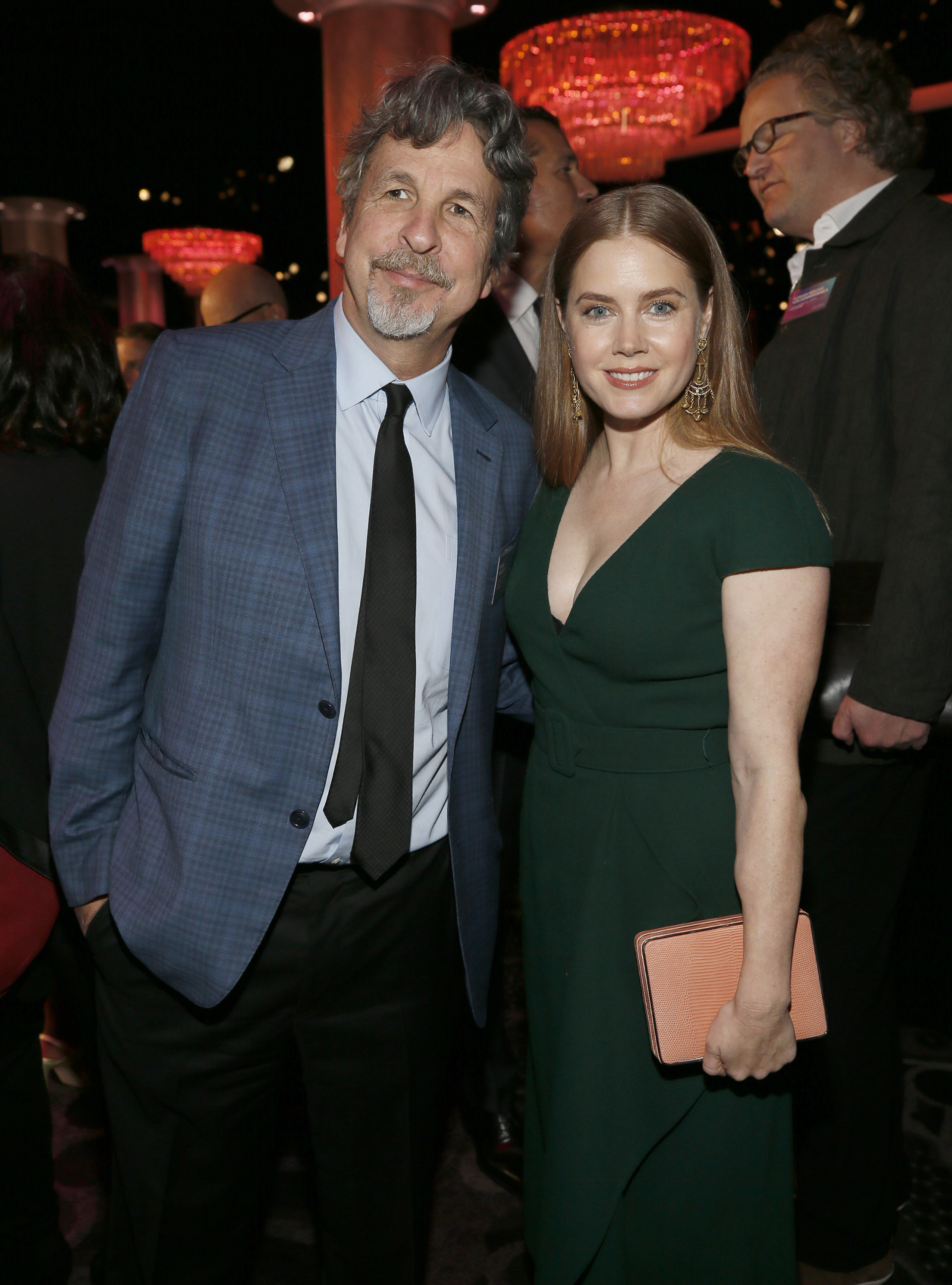 Peter Farrelly y Amy Adams