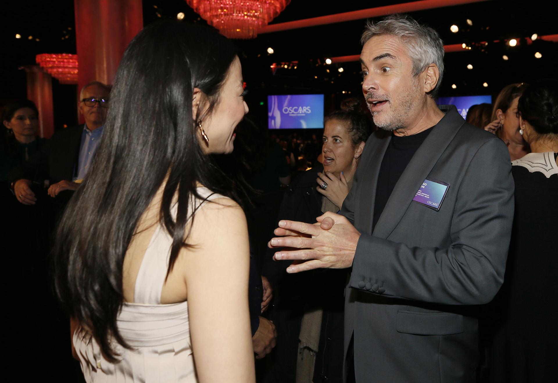 Elizabeth Chai Vasarhelyi y Alfonso Cuaron