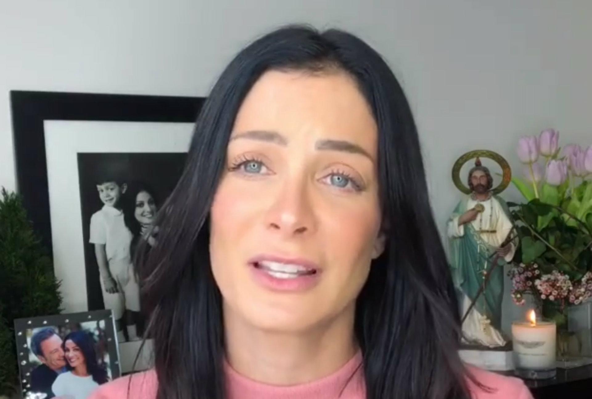 En su video del 4 de febrero se veía su foto junto a D'Esposito (Instagram)