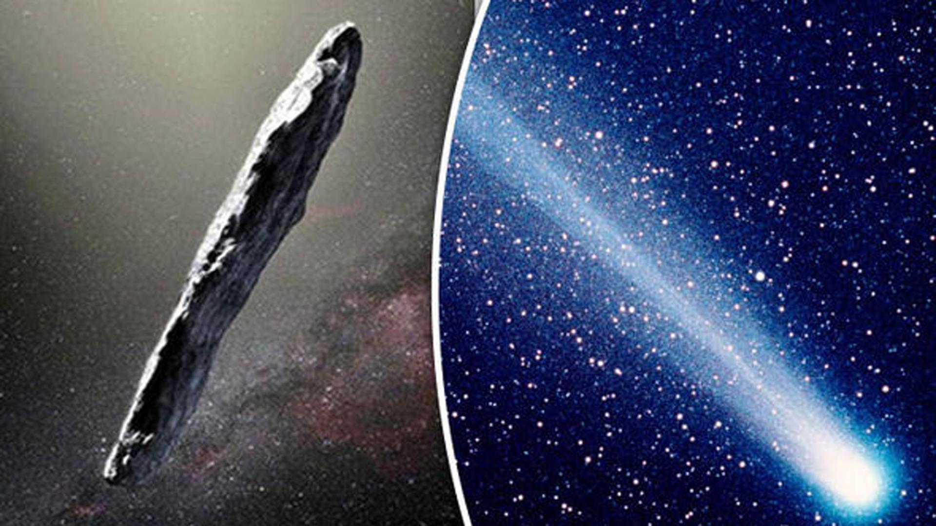 Se registró un exceso de aceleración de Oumuamua lejos del Sol