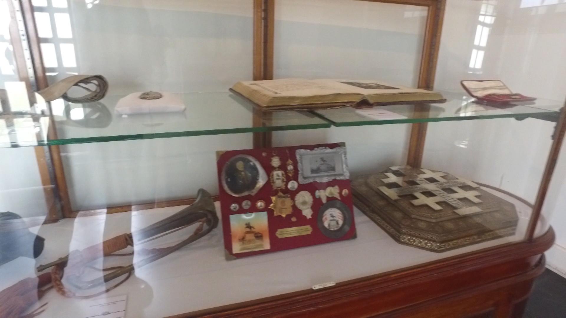 Estos son algunos de los objetos que atesora el museo
