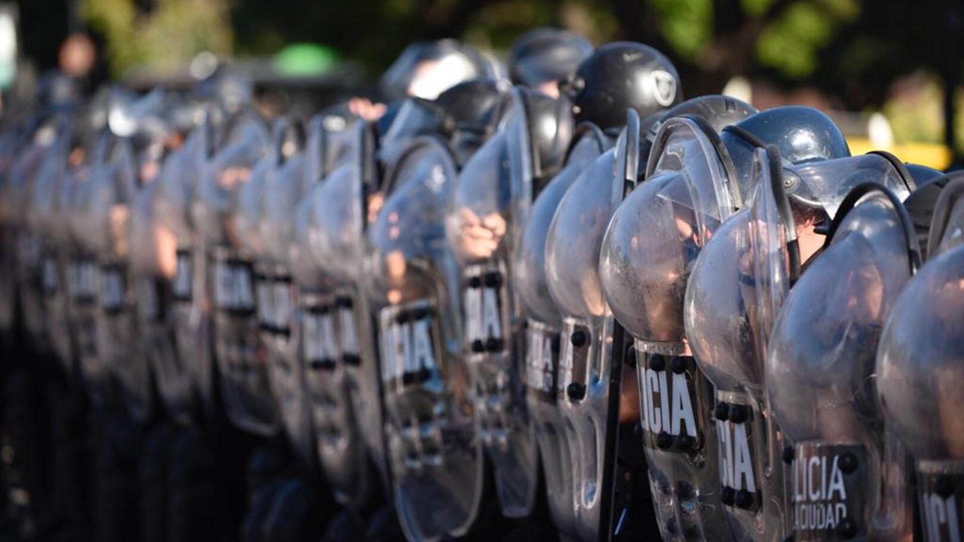 La Policía de la Ciudad estuvo a cargo del operativo (Colin Boyle)