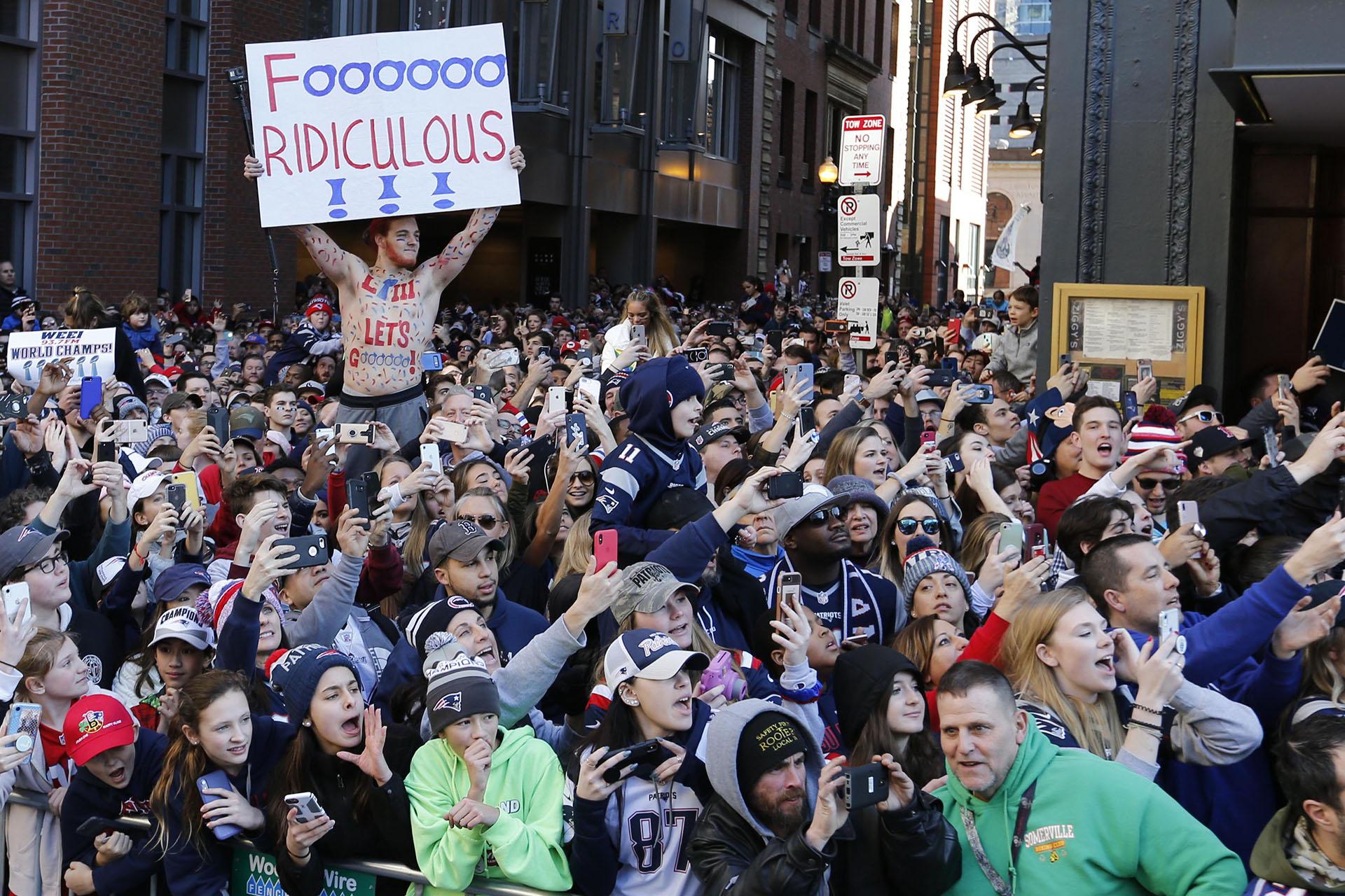 Éste fue el sexto anillo que consiguieron los Patriots