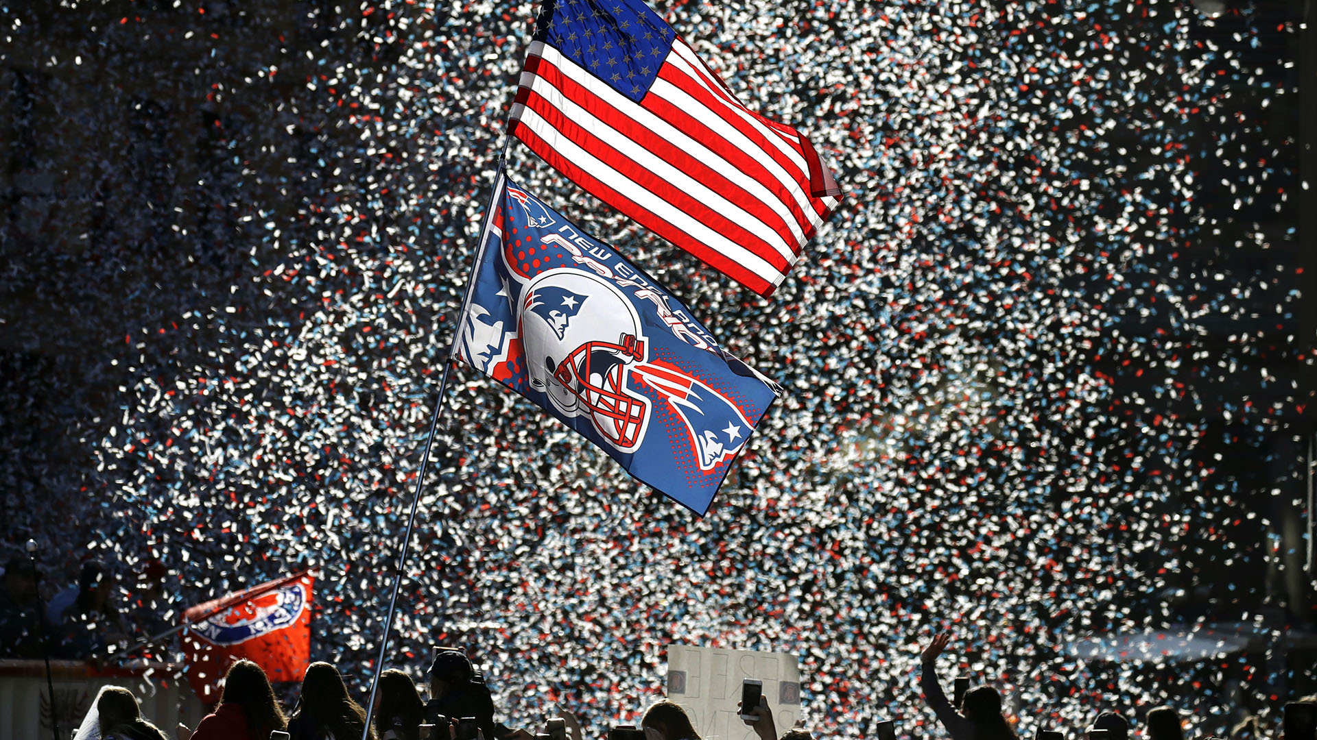 New England Patriots vencieron el domingo a Los Ángeles Rams en el Super Bowl LIII