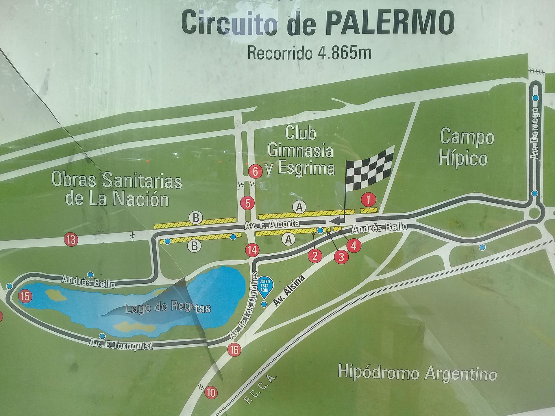 Así es el recorrido de 4.865 metros que antecedió al Autódromo