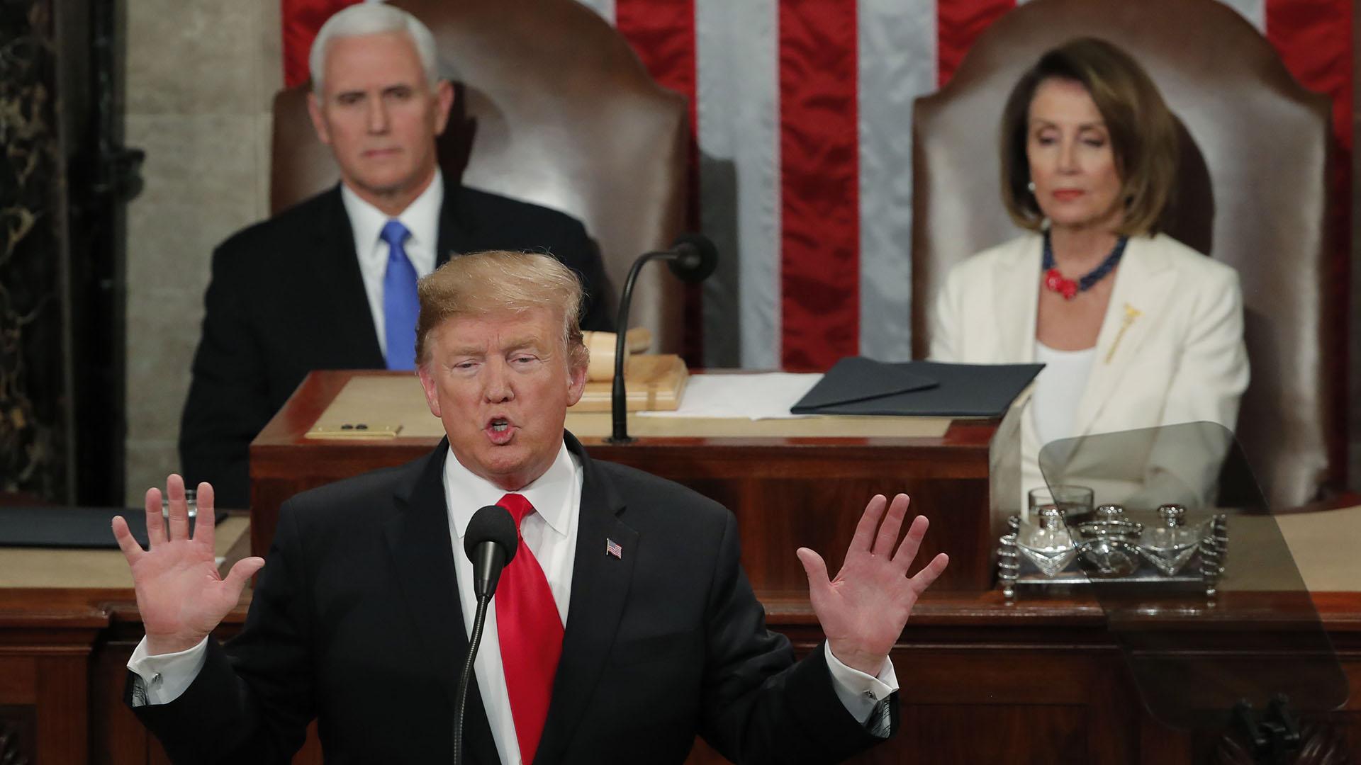 Donald Trump. REUTERS/Jim Young