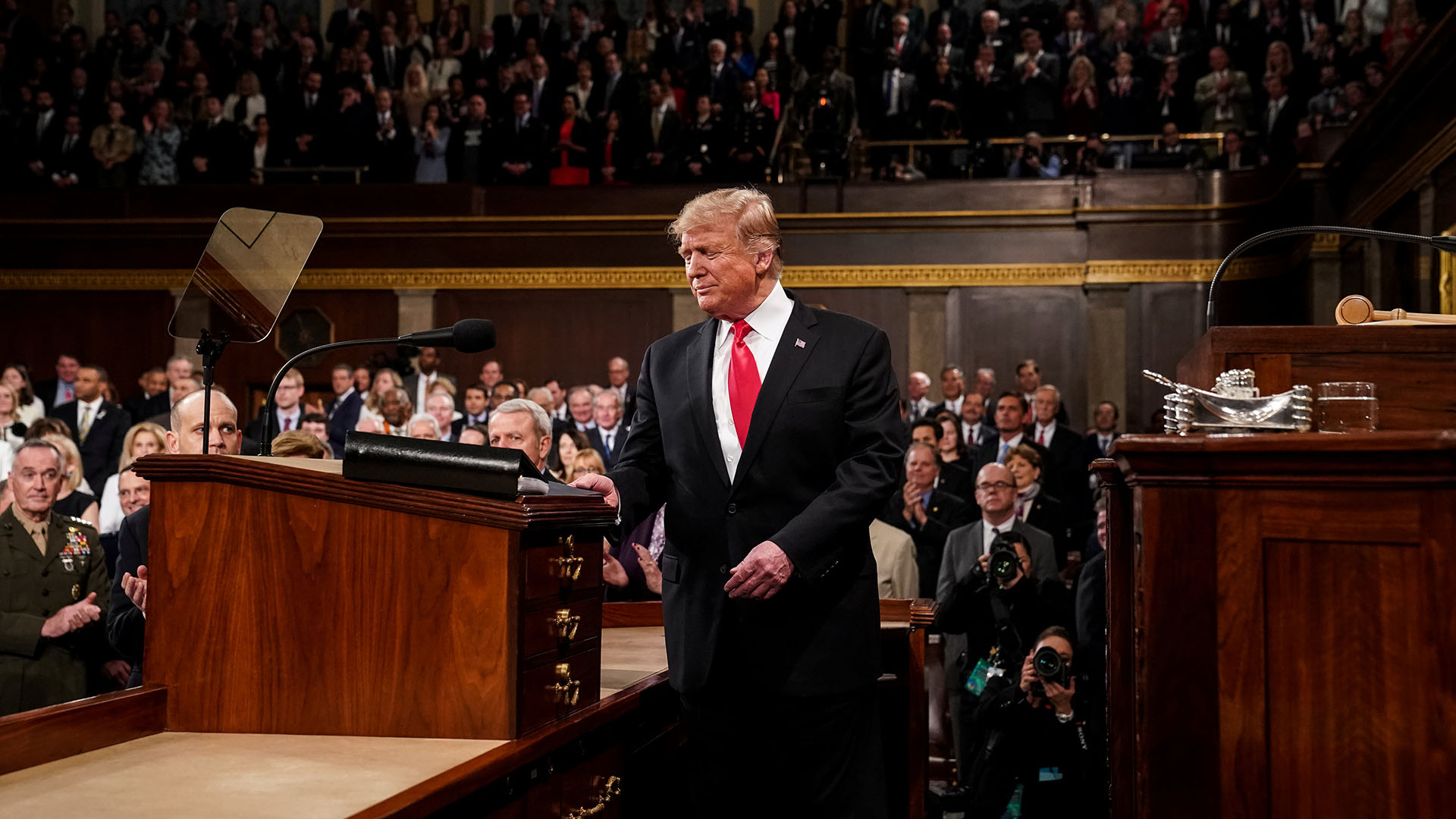 Donald Trump. (Doug Mills/Pool via REUTERS)