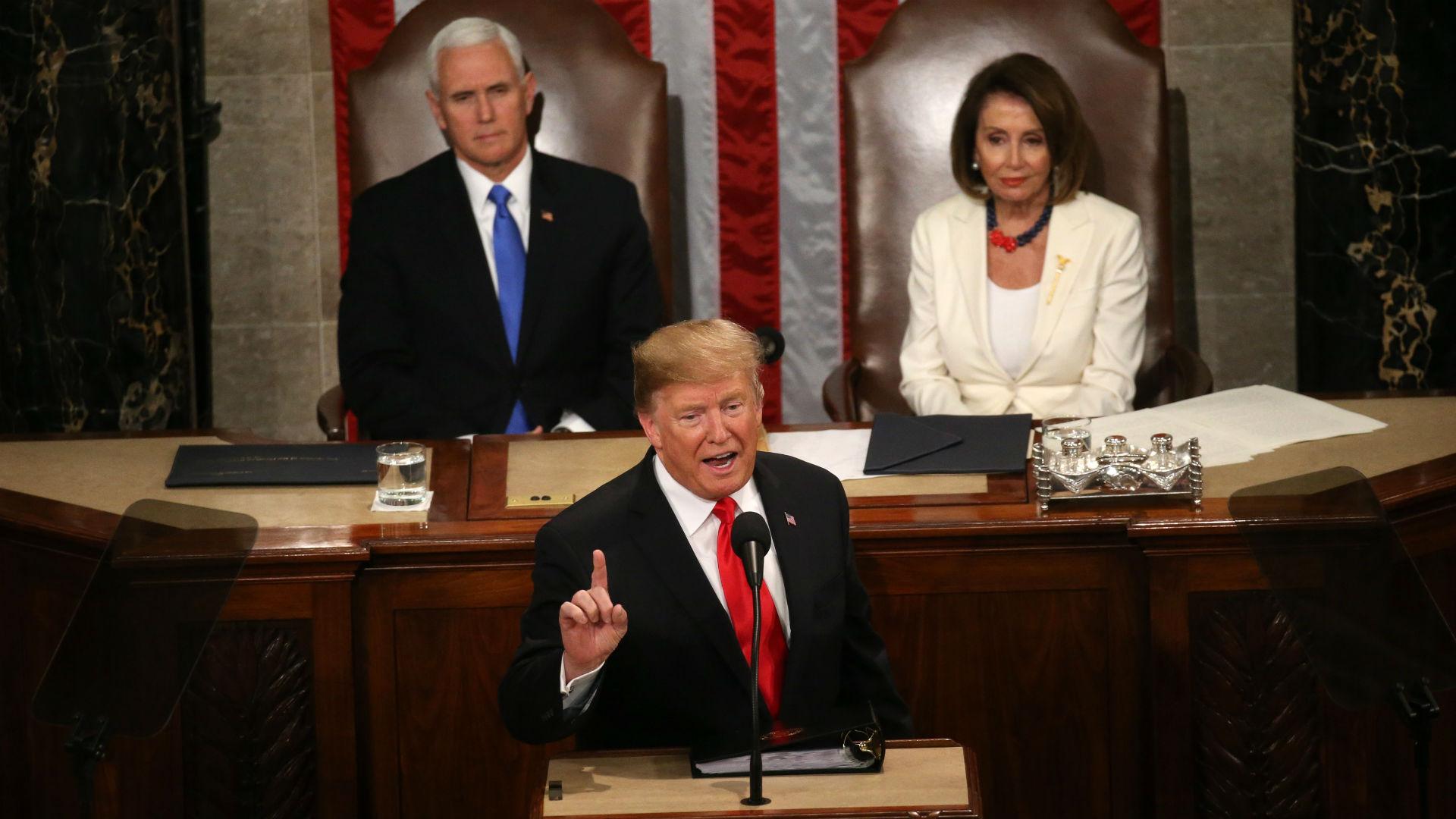 Durante el discurso del Estado de la Unión, Donald Trump anunció el ambicioso plan.