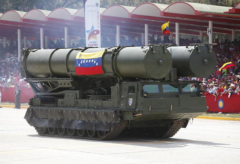 El sistema antimisiles S-300 fue desplegado por el régimen de Maduro en los alrededores de Caracas