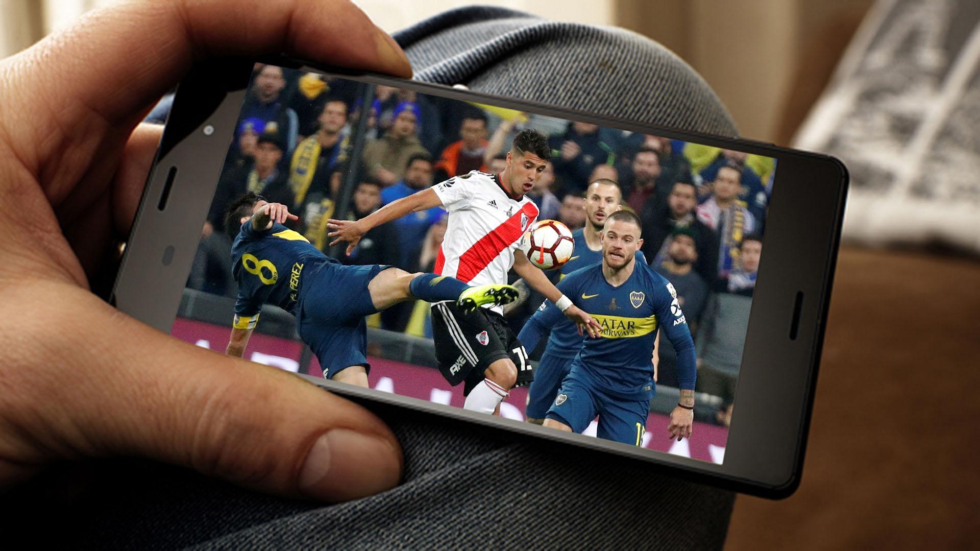 Facebook transmite en exclusiva los partidos de los jueves por la Copa Libertadores.