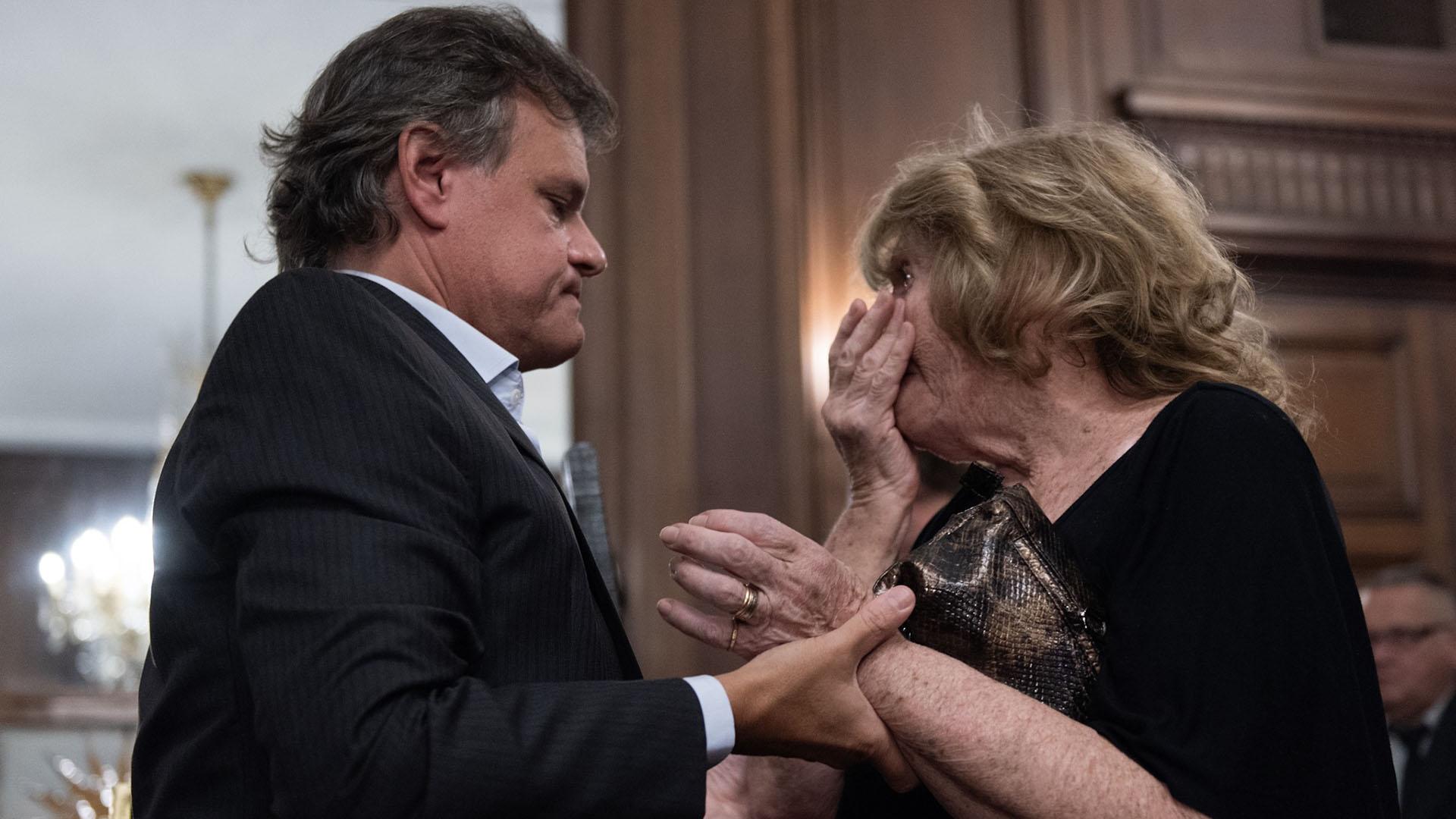 A un año de la muerte de la periodista Débora Pérez Volpin, sus seres queridos realizaron el homenaje con un pedido de justicia (Adrián Escandar)