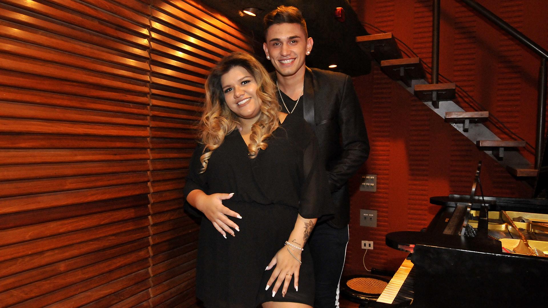 """En su semana 33 de embarazo, Morena Rial firmó contrato para el lanzamiento de su canción """"Hello Baby"""" (Teleshow)"""