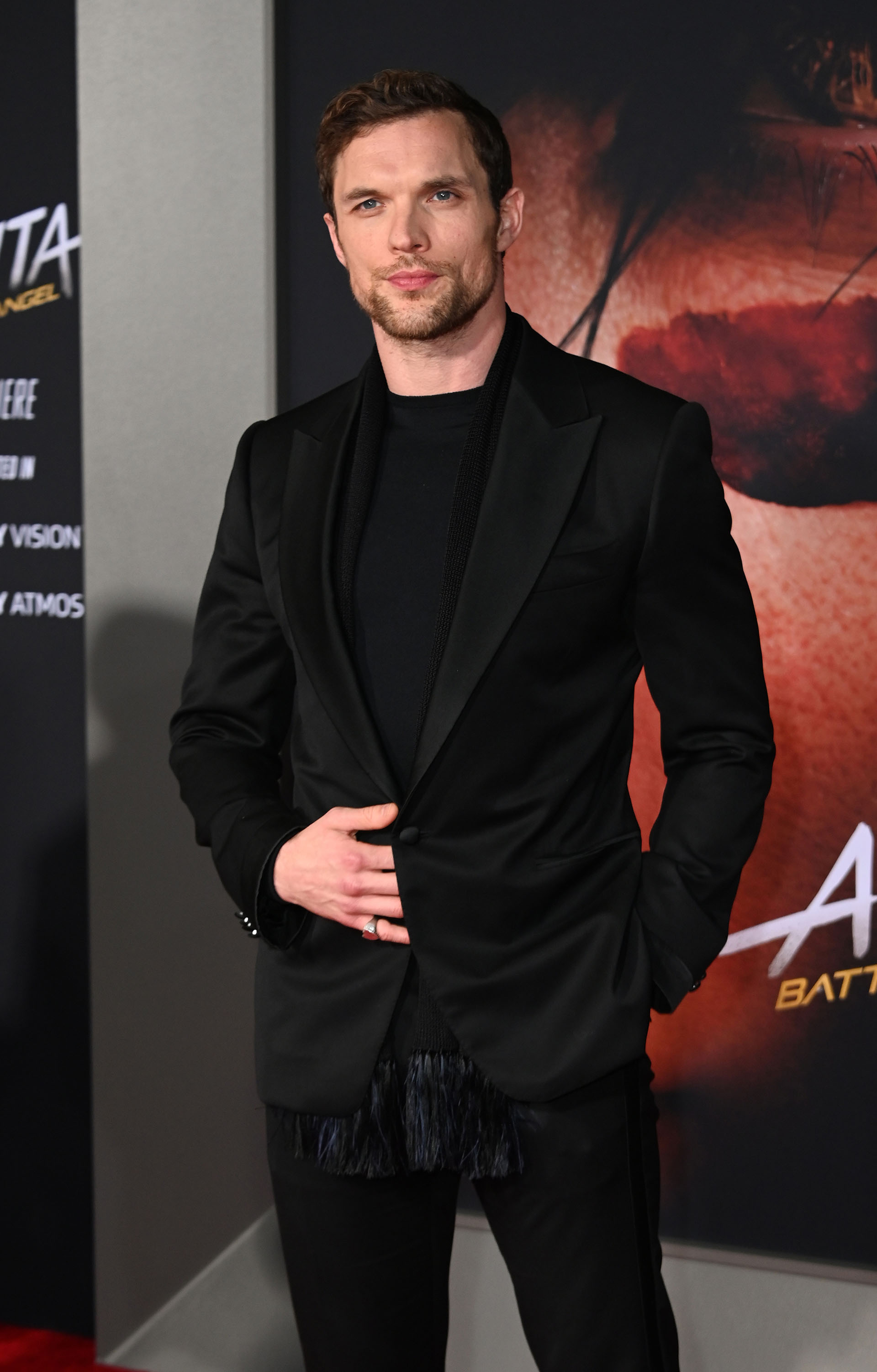 "Actor Ed Skrein attends the premiere of ""Alita Battle Angel"" on February 5, 2019 at the Westwood Village Regency Theatre in Westwood, California. (Photo by Robyn Beck / AFP)"