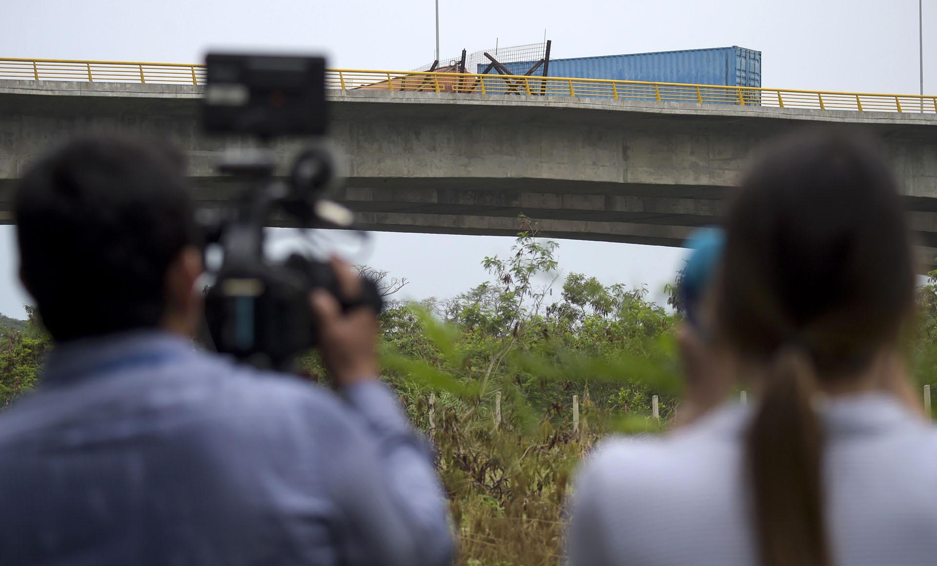 """De acuerdo con reportes de prensa, iba a ser una de las vías para la entrada de los cargamentos de alimentos y medicinas desde el extranjero; aunque el legislador de Táchira Franklin Duarte aseguró que ello todavía """"no había sido definido"""""""