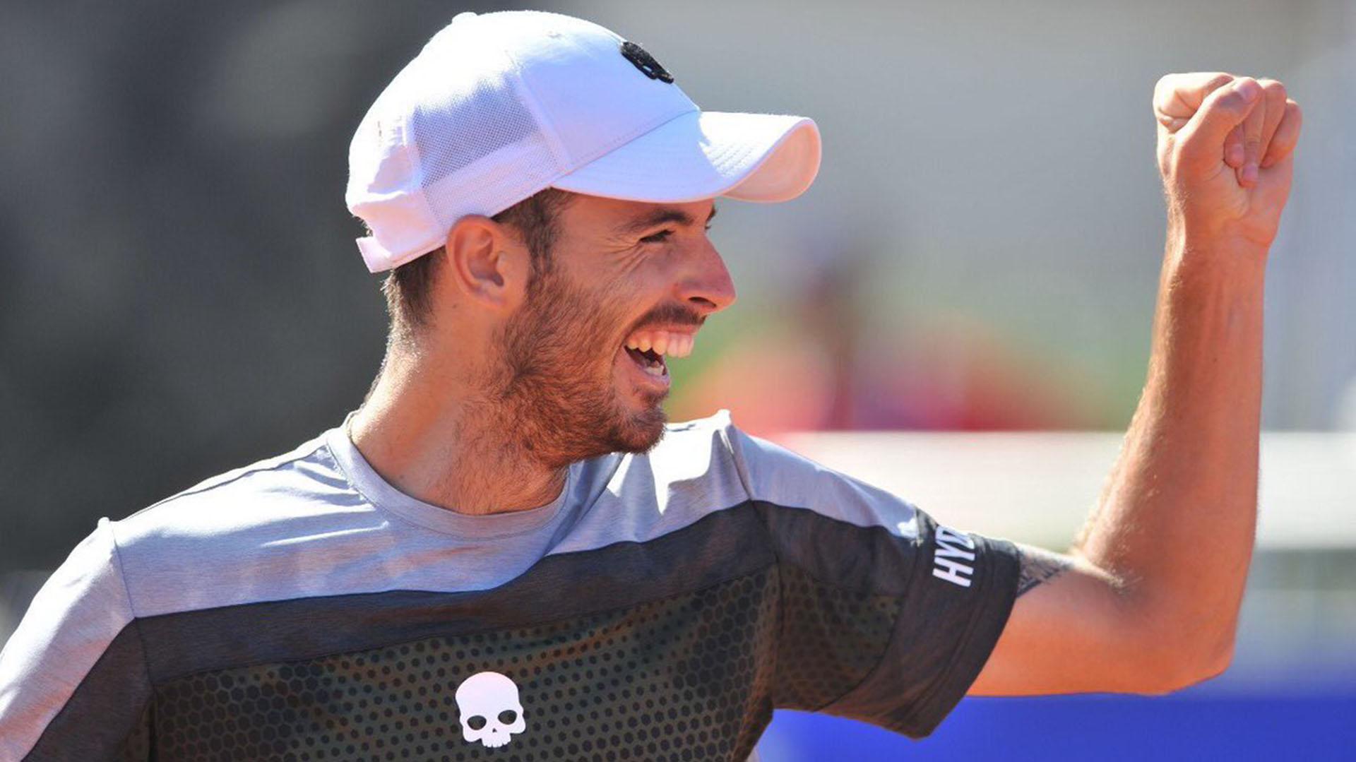 Londero, uno de los que dio la sorpresa en el torneo (Foto: @cordobaopen)