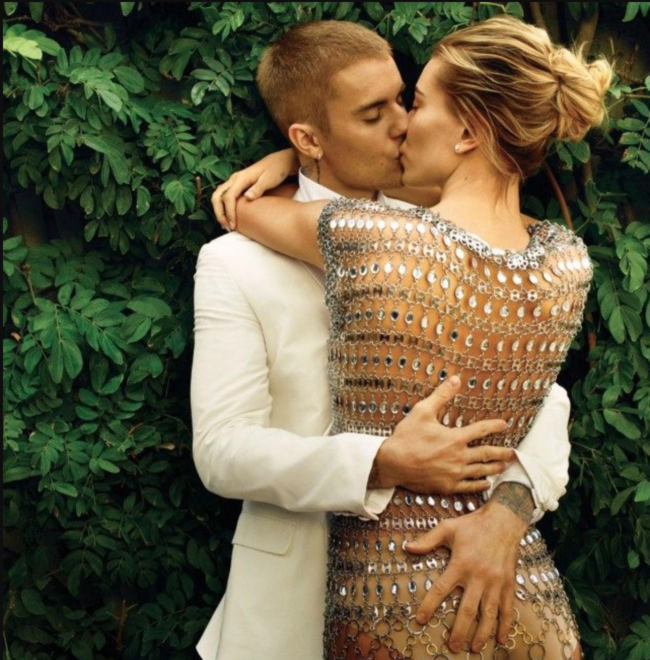 Justin y Hailey confesaron que hacen terapia de pareja (Vogue/ Annie Leibovitz)