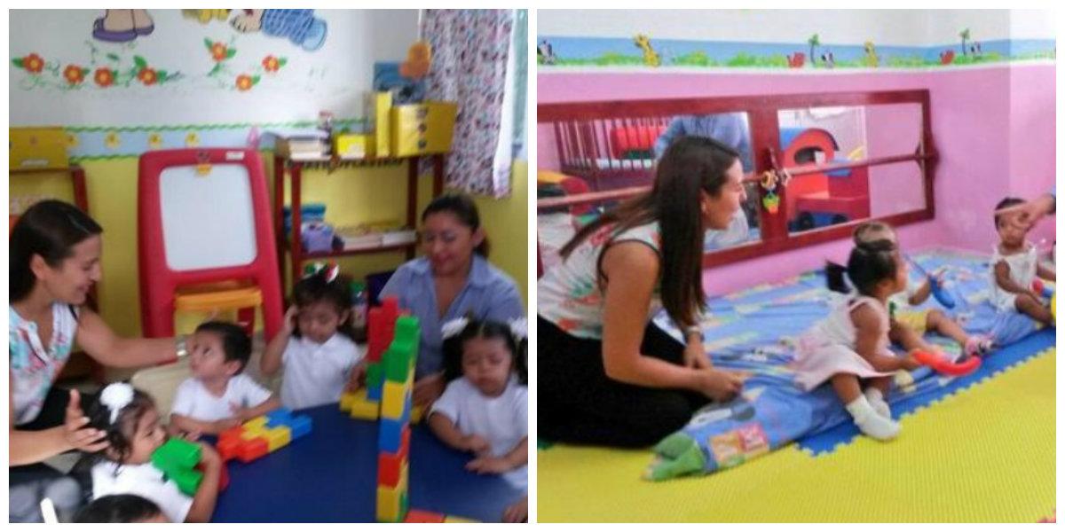 Las estancias infantiles tienen programas especializados en el desarrollo pedagógico y físico