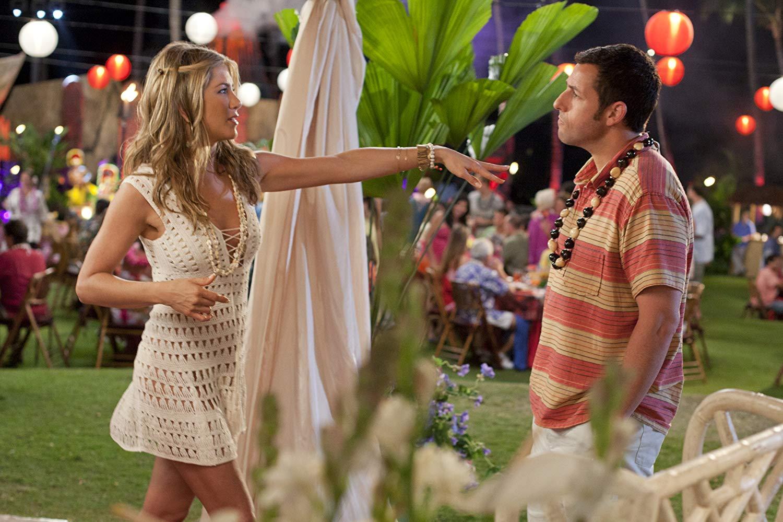 "Jennifer Aniston con Adam Sandler en ""Una esposa de mentira"" (2011)"