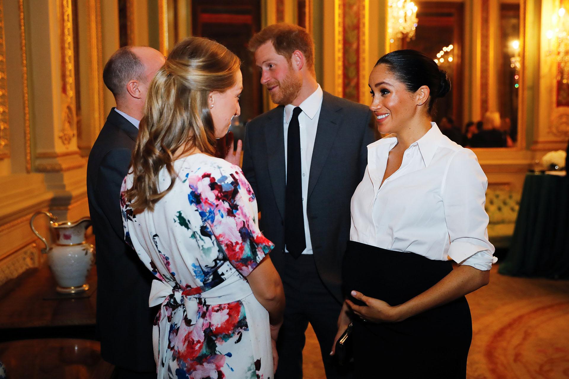 La duquesa transita el séptimo mes de embarazo