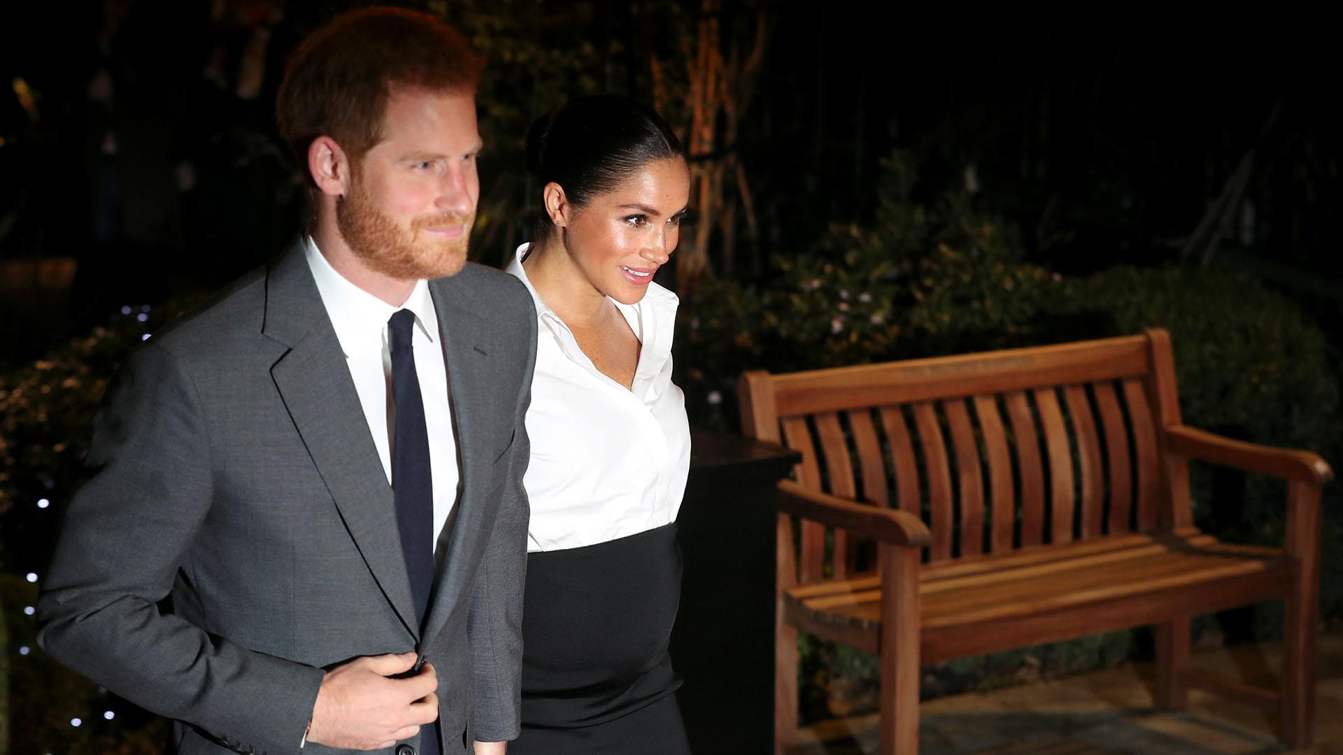 La pareja se casó el año pasado en una emotiva ceremonia y, al poco tiempo, el Palacio real anunció el embarazo