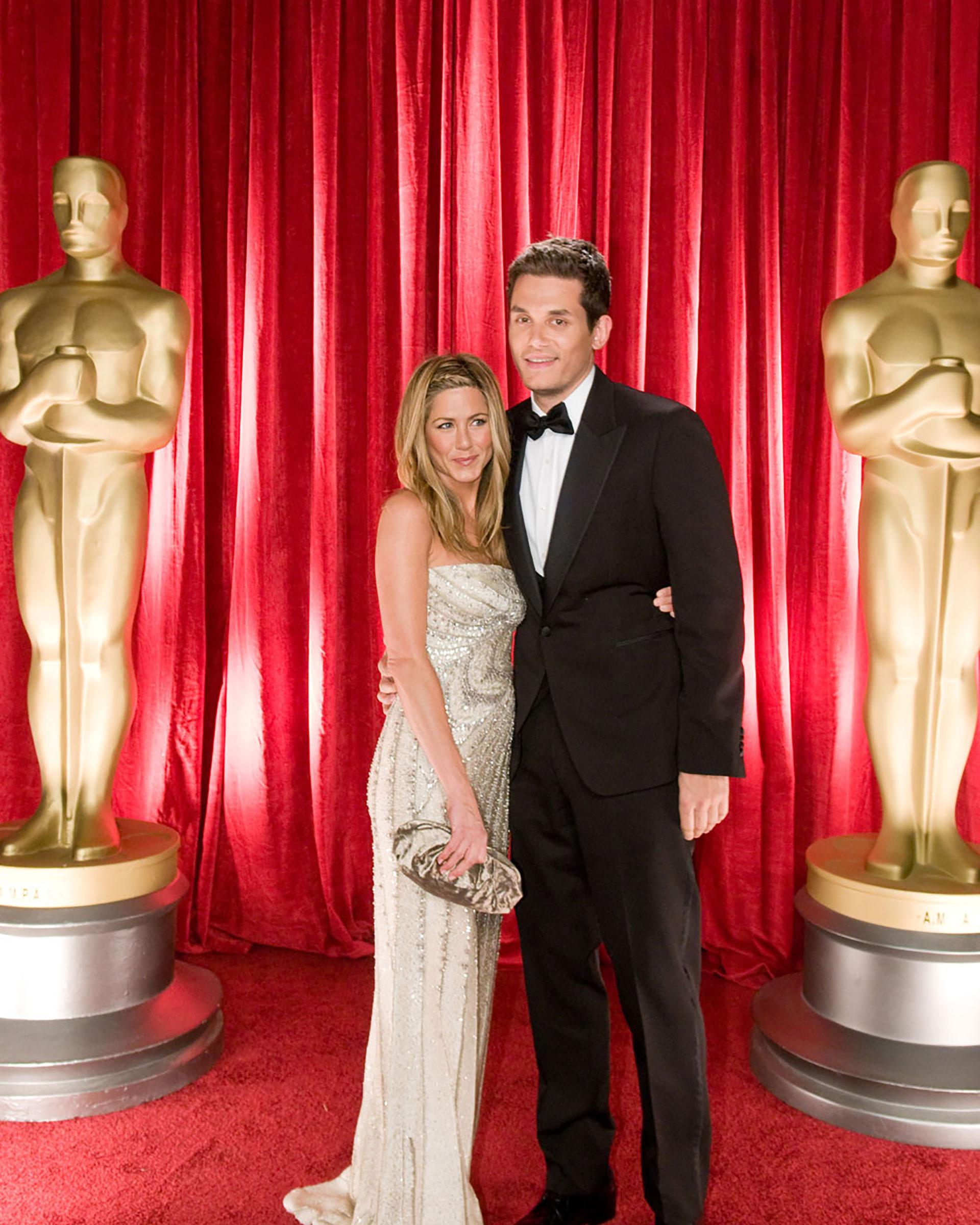 Jennifer Aniston mantuvo también un romance de varios años con el músico John Mayer, ex de Katy Perry y Taylor Swift