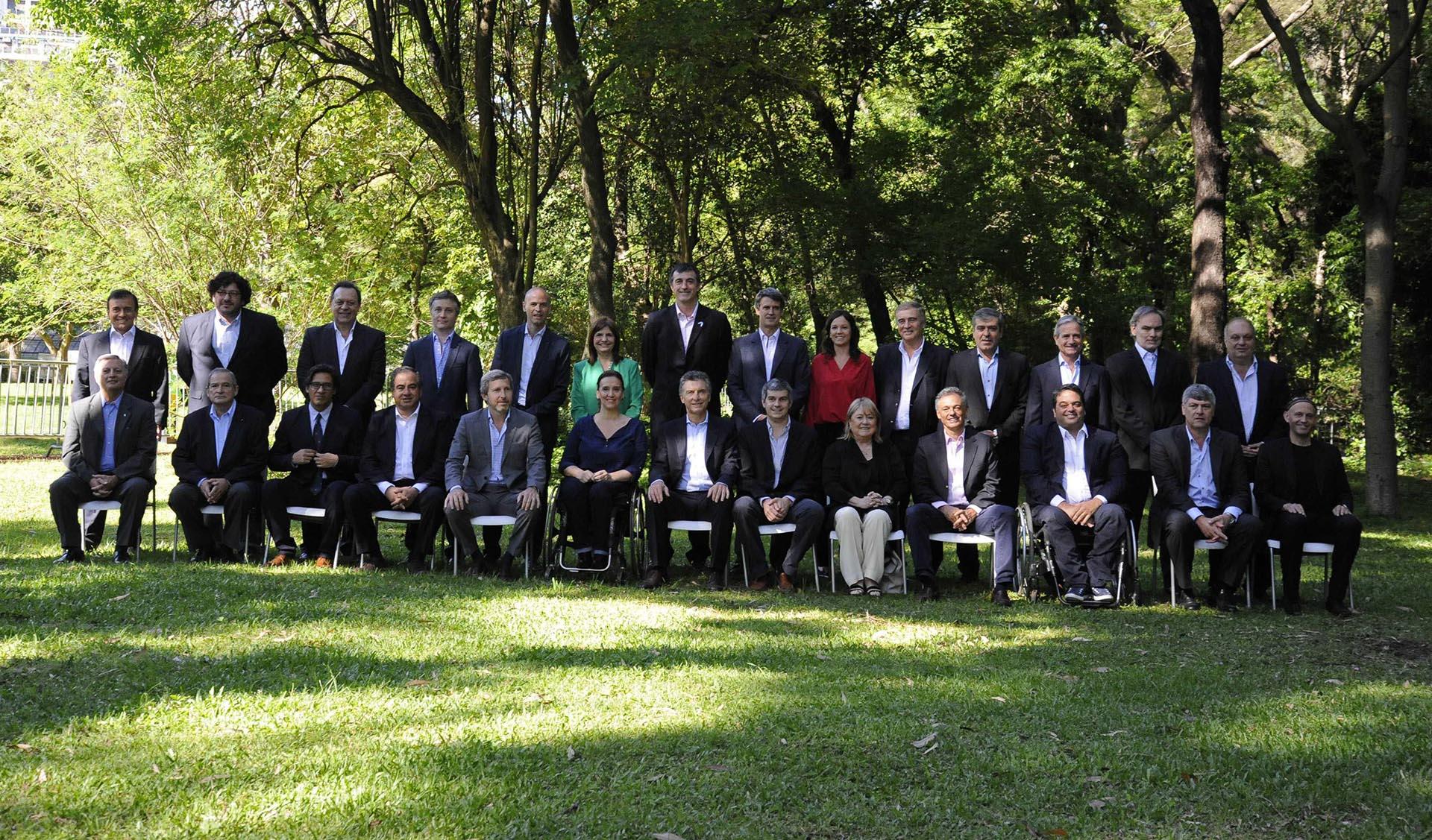 2015. Presentación del Gabinete en el Jardín Botánico de la Ciudad de Buenos Aires
