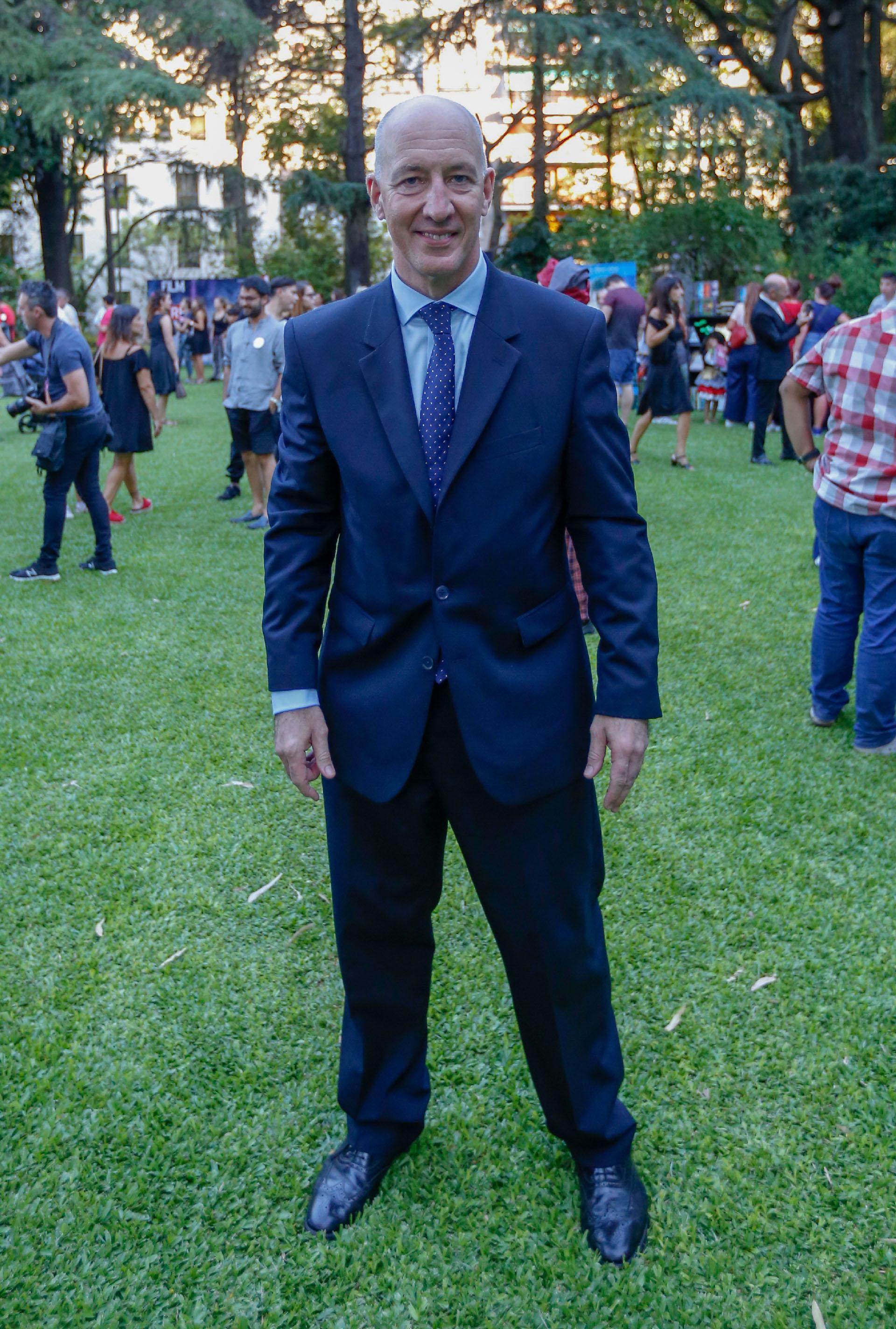El embajador Mark Kent estuvo presente en los jardines y dialogó con los fanáticos de la saga