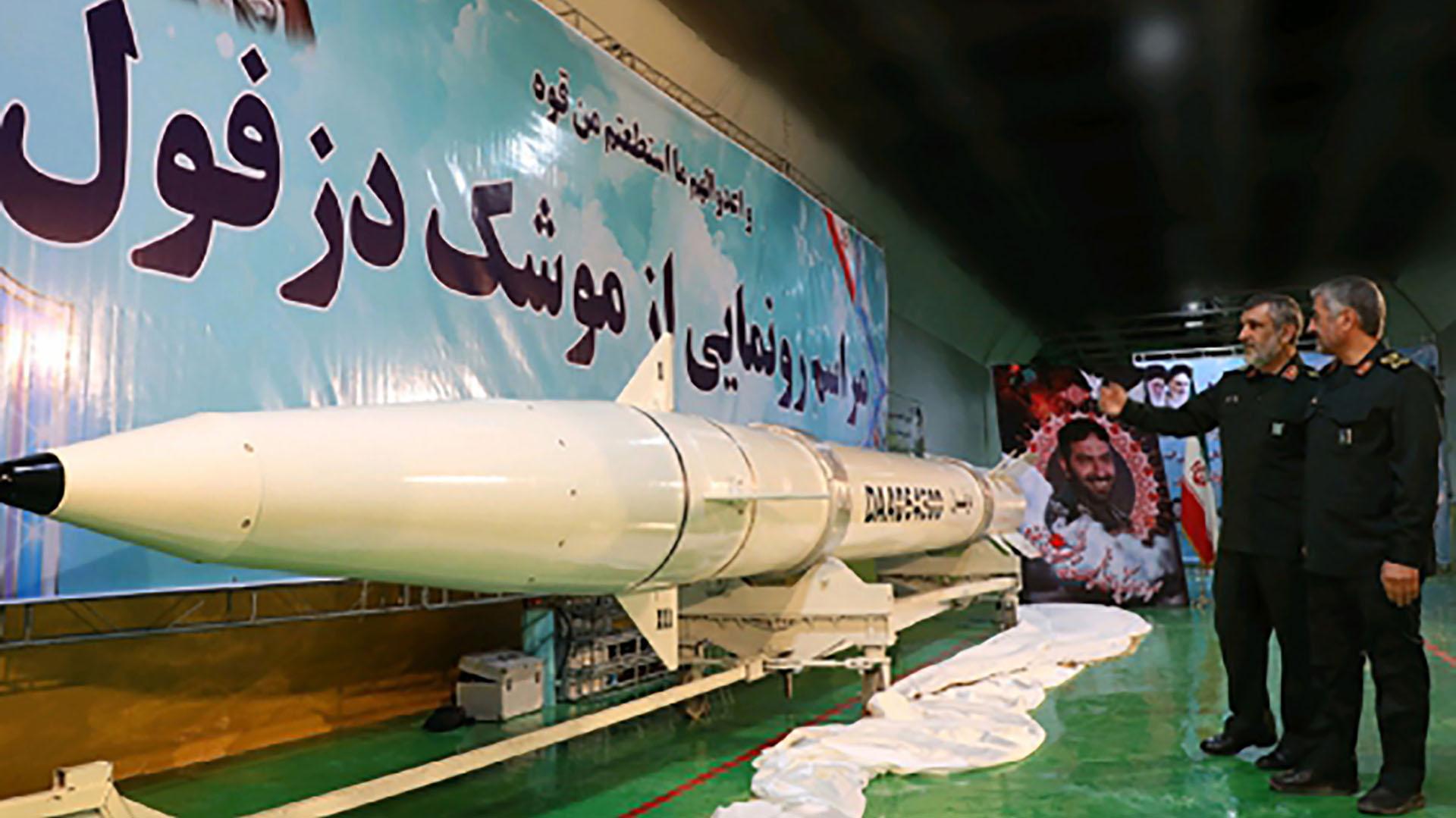 El general reiteró que la capacidad defensiva de Irán es disuasiva (AFP)