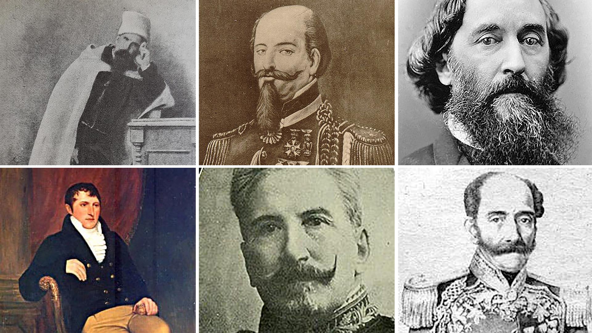 Los protagonistas de las batallas más célebres de la historia argentina