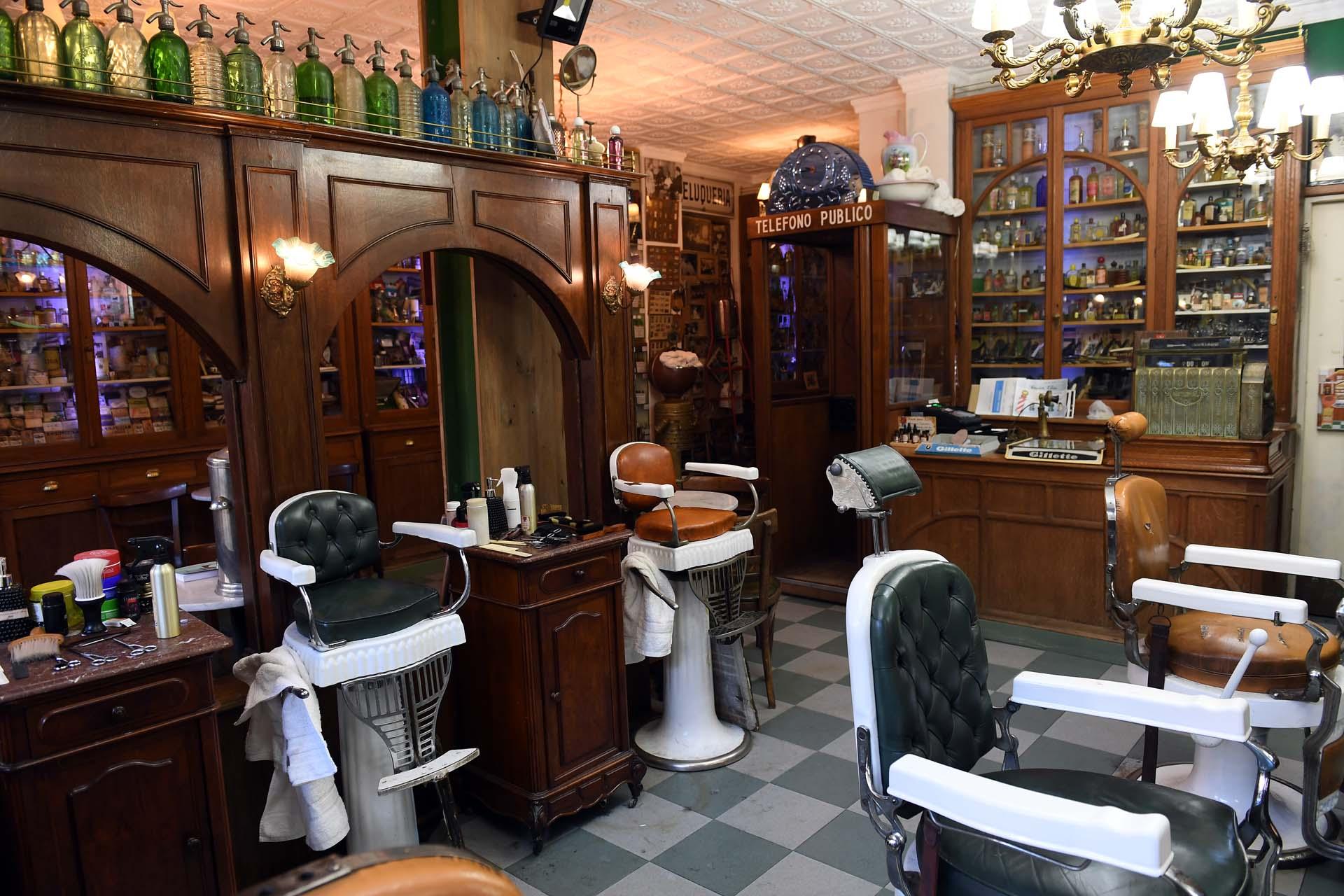 La peluquería abrió en 1998