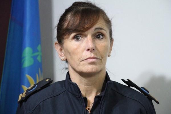 La comisario mayor Sandra Elizabeth Roncallo
