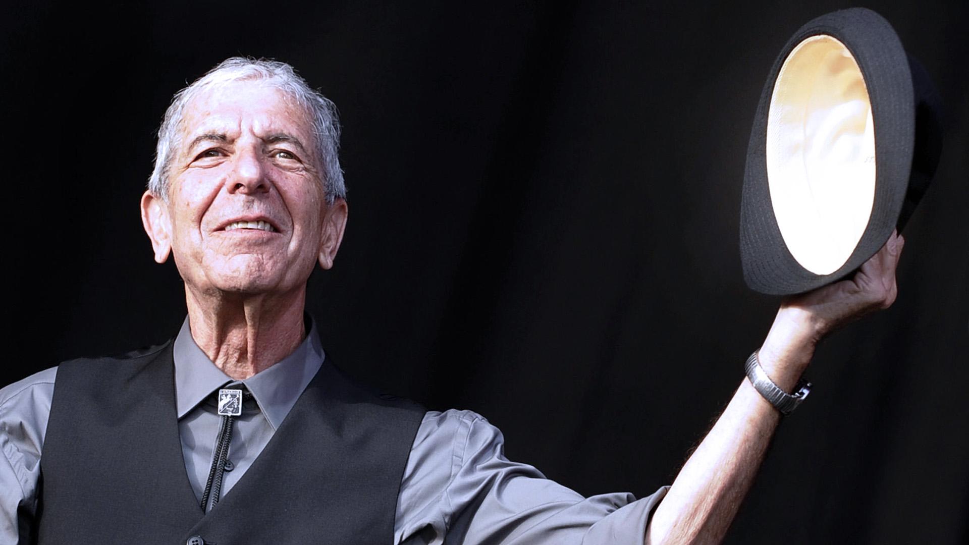 Julio del 2008. Leonard Cohen en el Festival de Beincassim (Foto: AFP)
