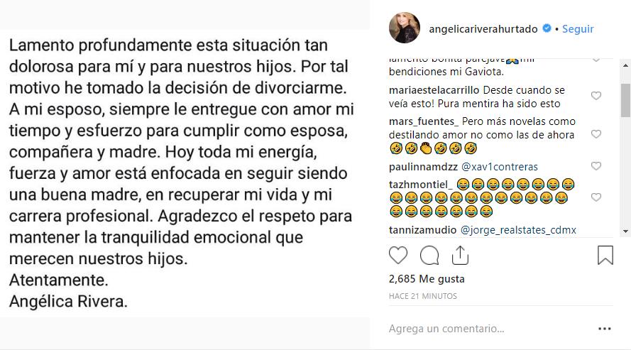 (Foto: Instagram @angelicariverahurtado)