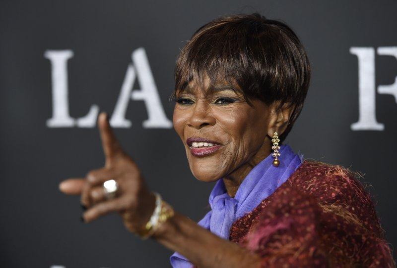 Cicely Tyson recibió un Oscar honorífico y sigue trabajando a los 94 años. (Chris Pizzello Invision/AP)