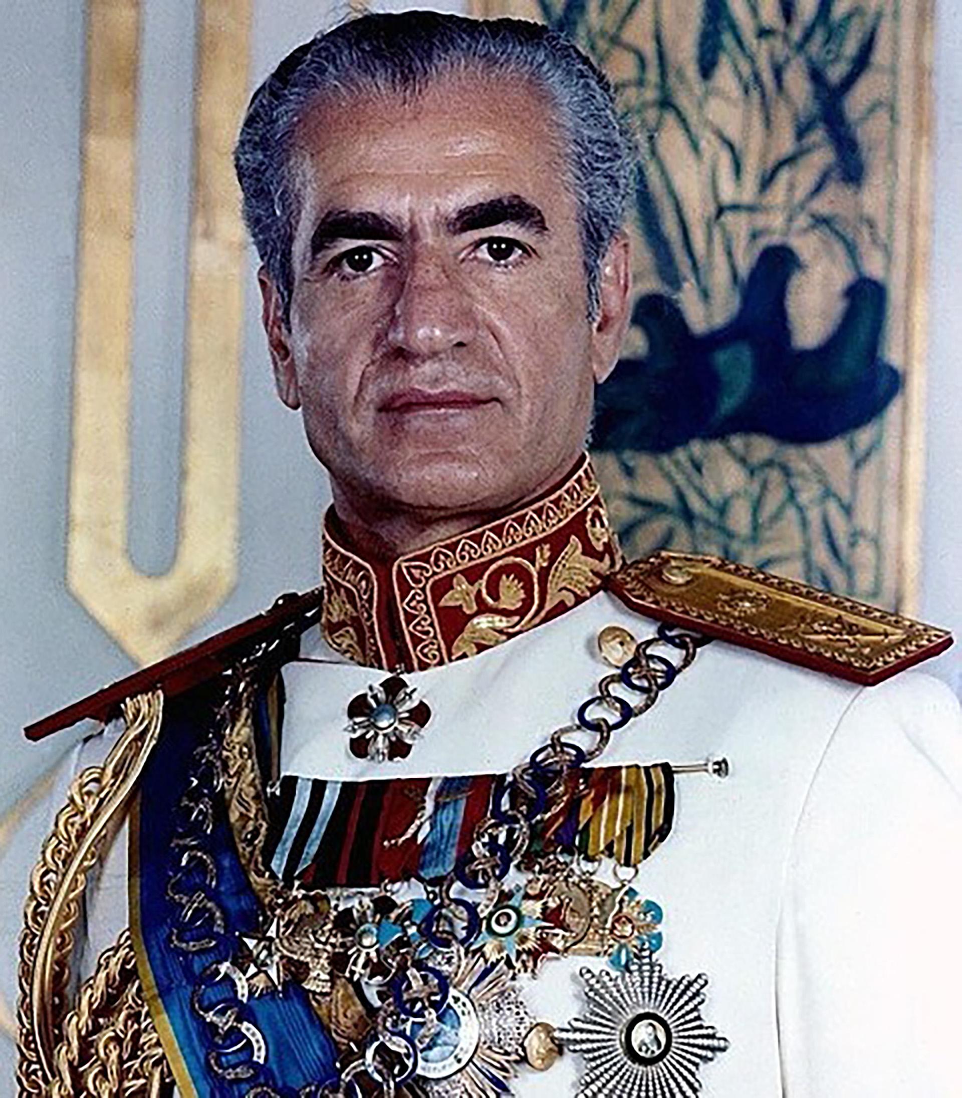 El shah Reza Pahlavi